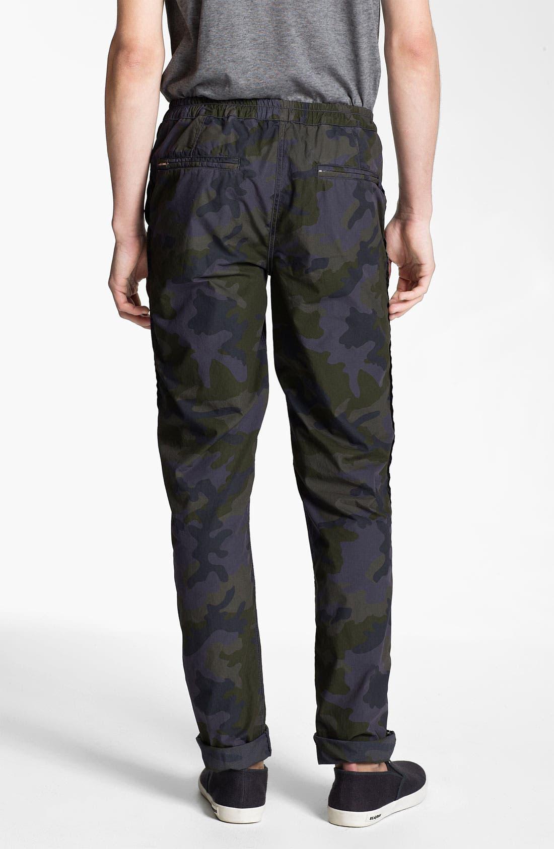 Alternate Image 2  - U Clothing 'Brody' Camo Tapered Leg Pants