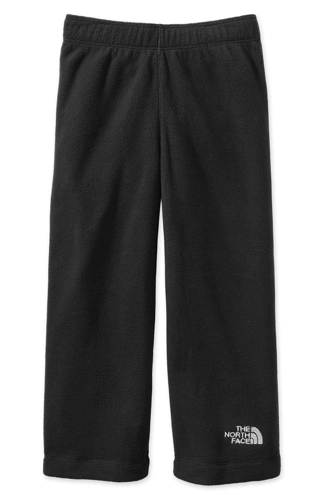 Alternate Image 1 Selected - The North Face 'Glacier' Fleece Pants (Toddler)