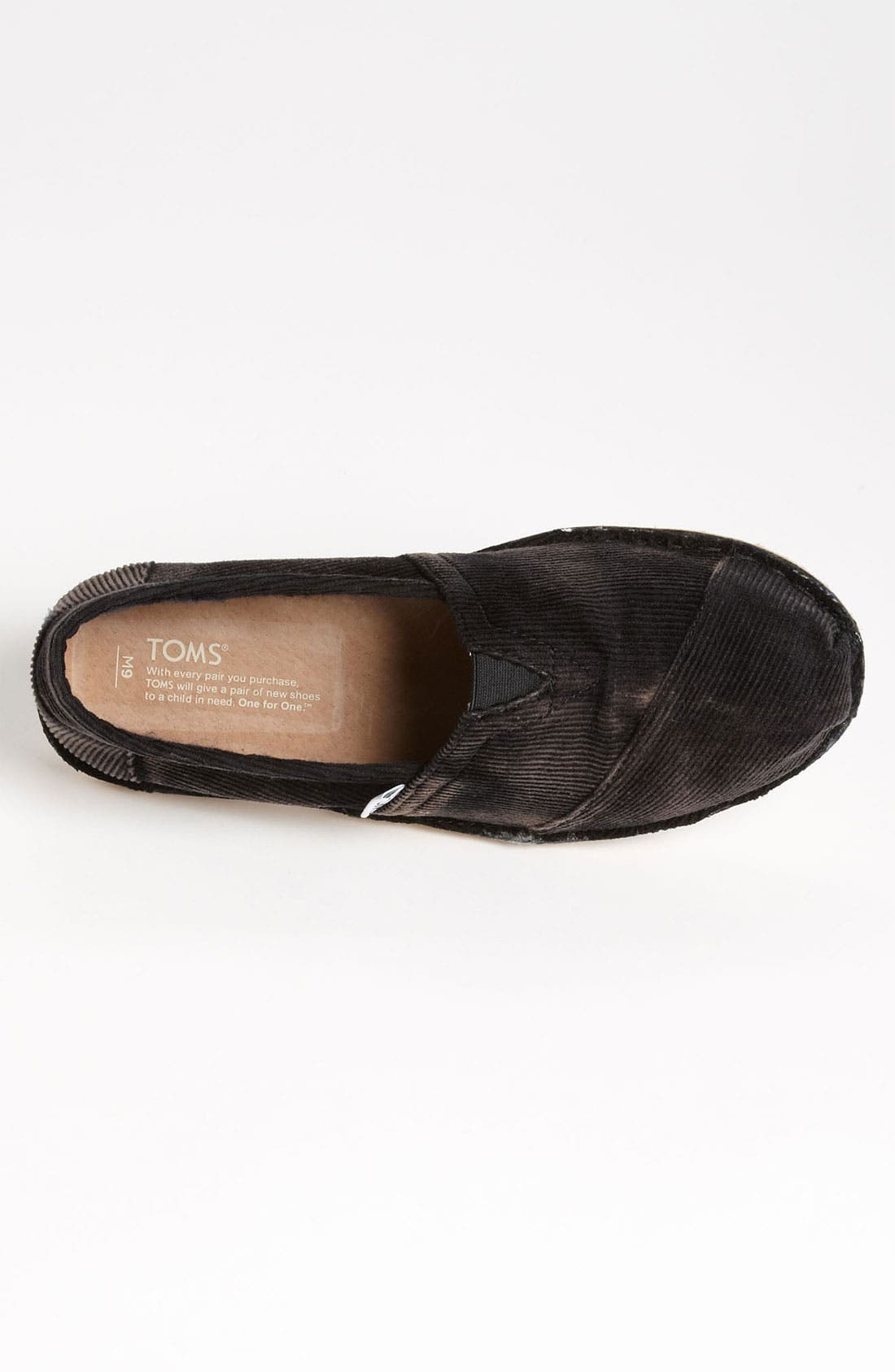 Alternate Image 3  - TOMS 'Stitchout' Stonewash Corduroy Slip-On (Men)