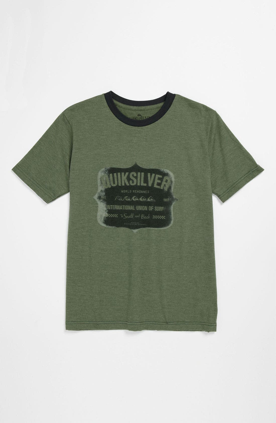 Alternate Image 1 Selected - Quiksilver 'Swell' T-Shirt (Big Boys)
