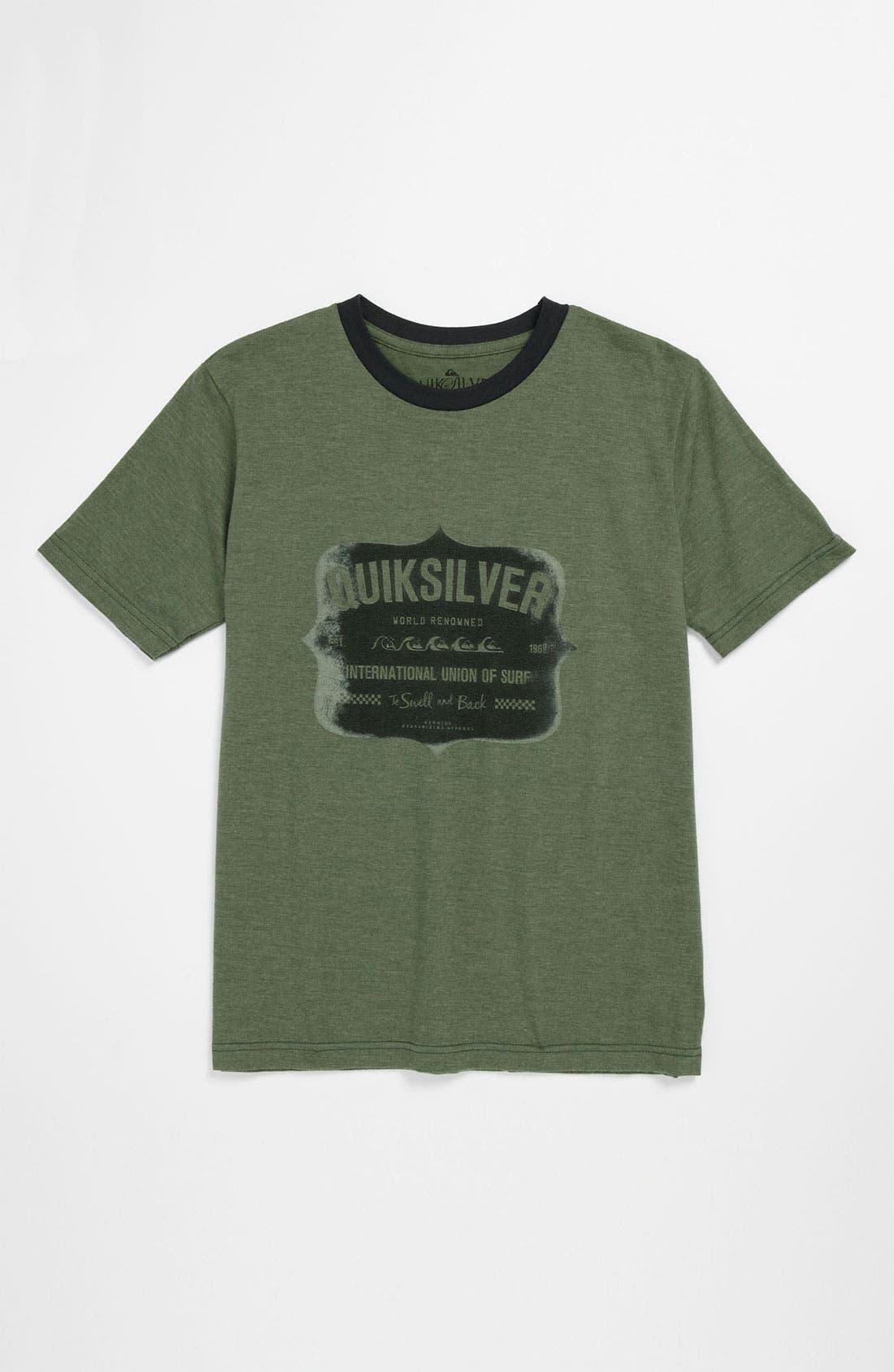 Main Image - Quiksilver 'Swell' T-Shirt (Big Boys)