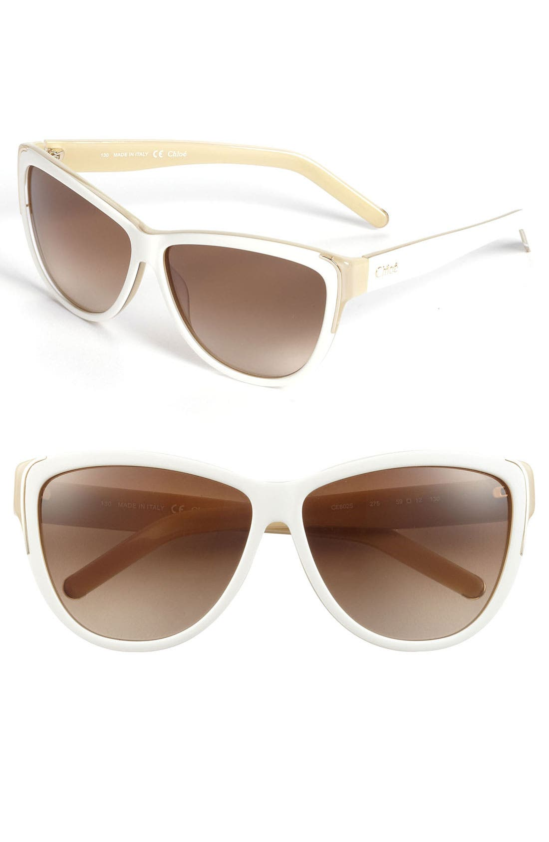Main Image - Chloé 59mm Oversized Sunglasses