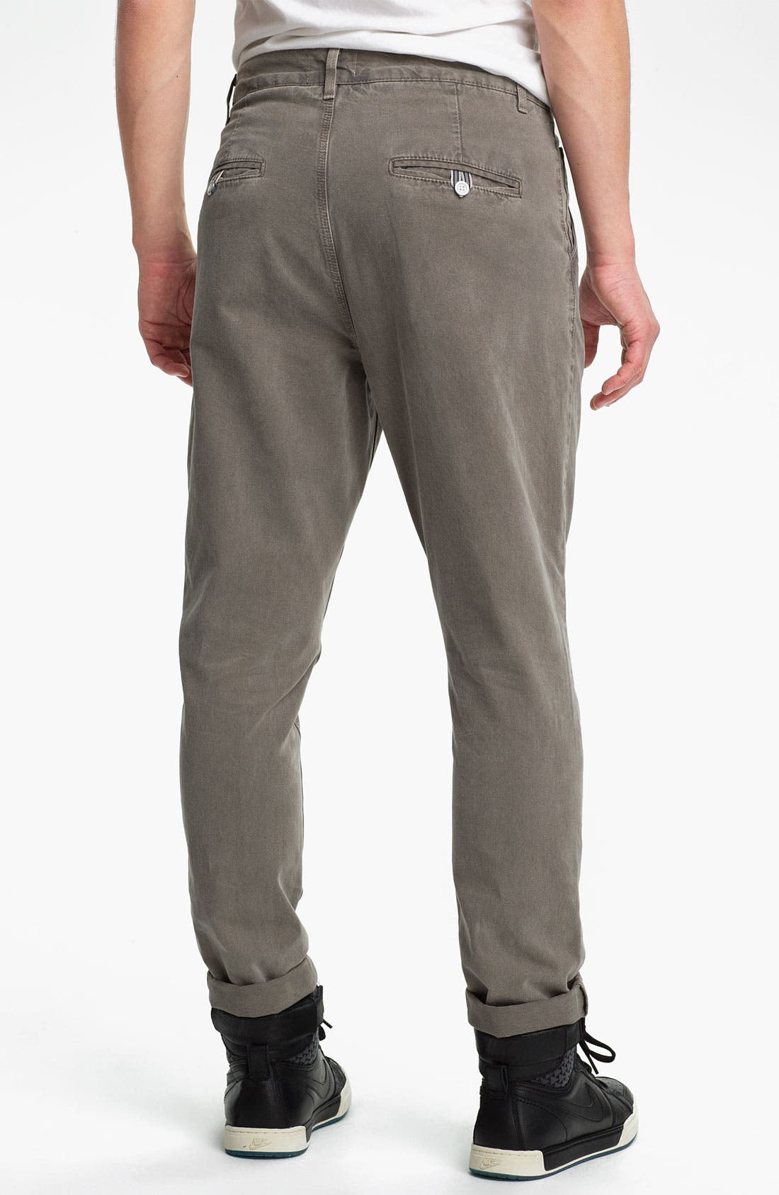 Alternate Image 2  - Topman Skinny Carrot Fit Pants