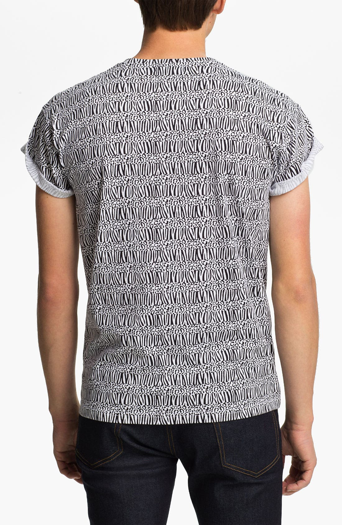 Alternate Image 2  - Topman 'High Roller' All Over Animal Print T-Shirt