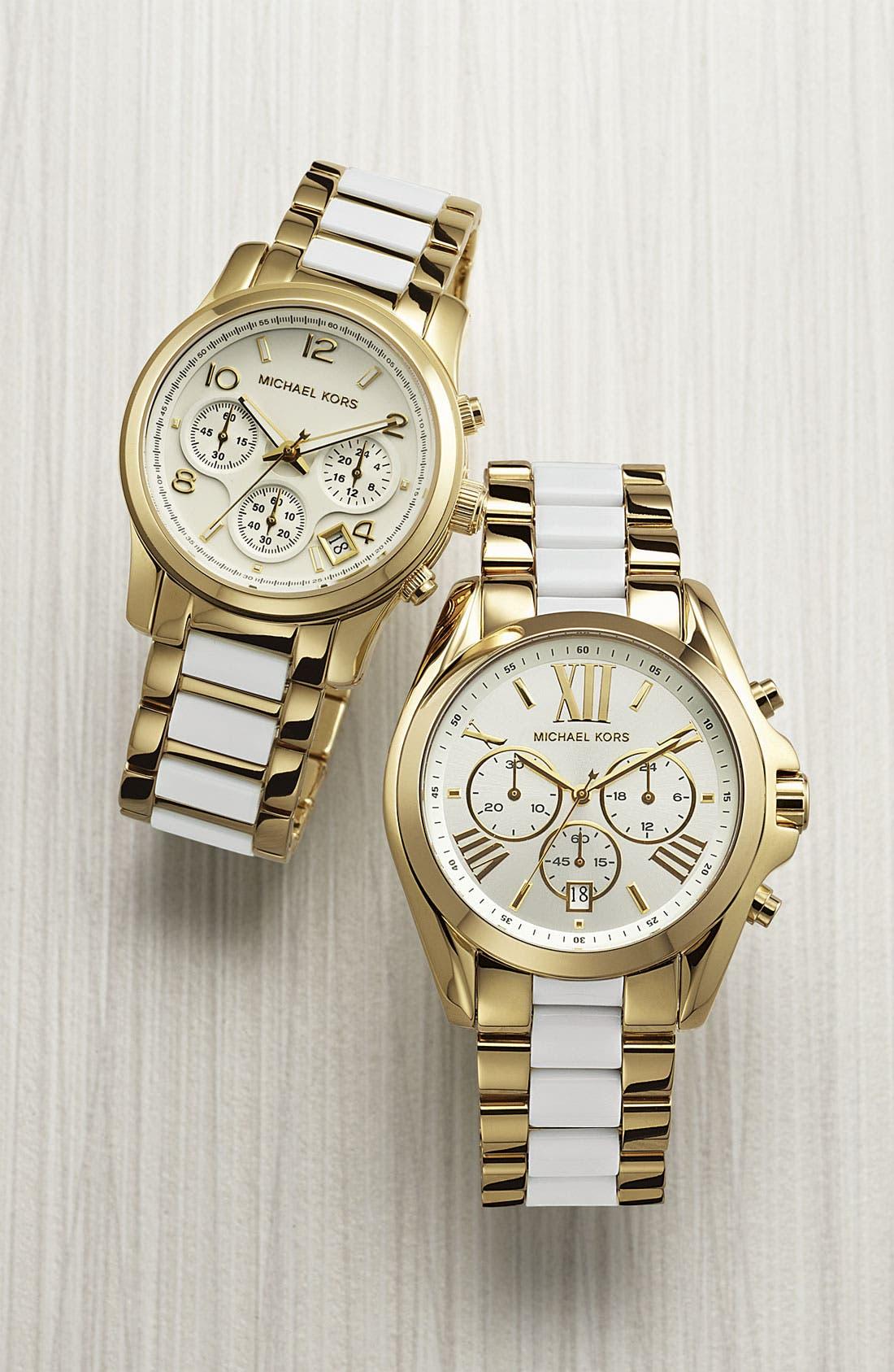 Alternate Image 2  - Michael Kors 'Bradshaw' Chronograph Bracelet Watch
