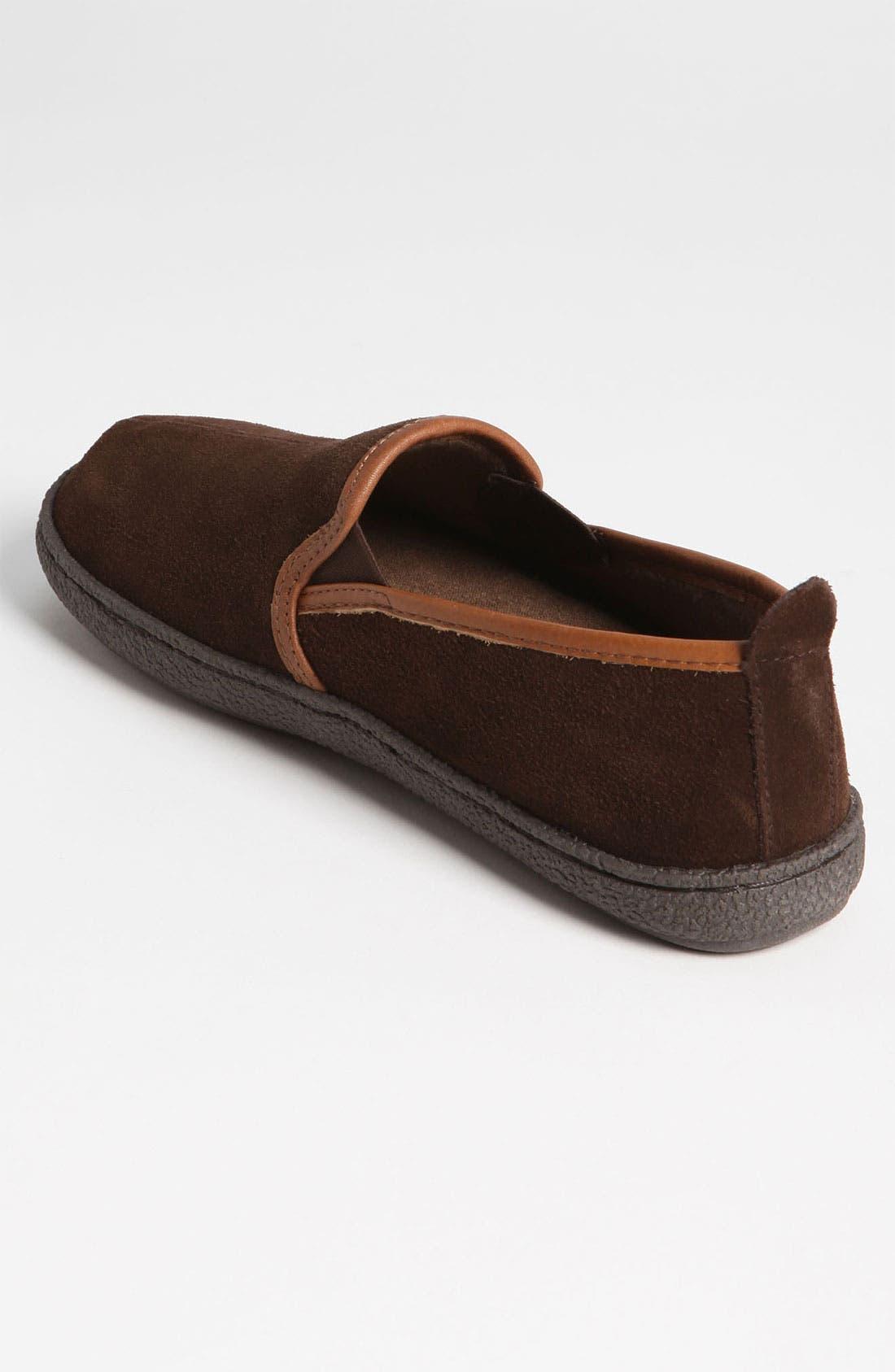 Alternate Image 2  - Tempur-Pedic® Suede Slipper