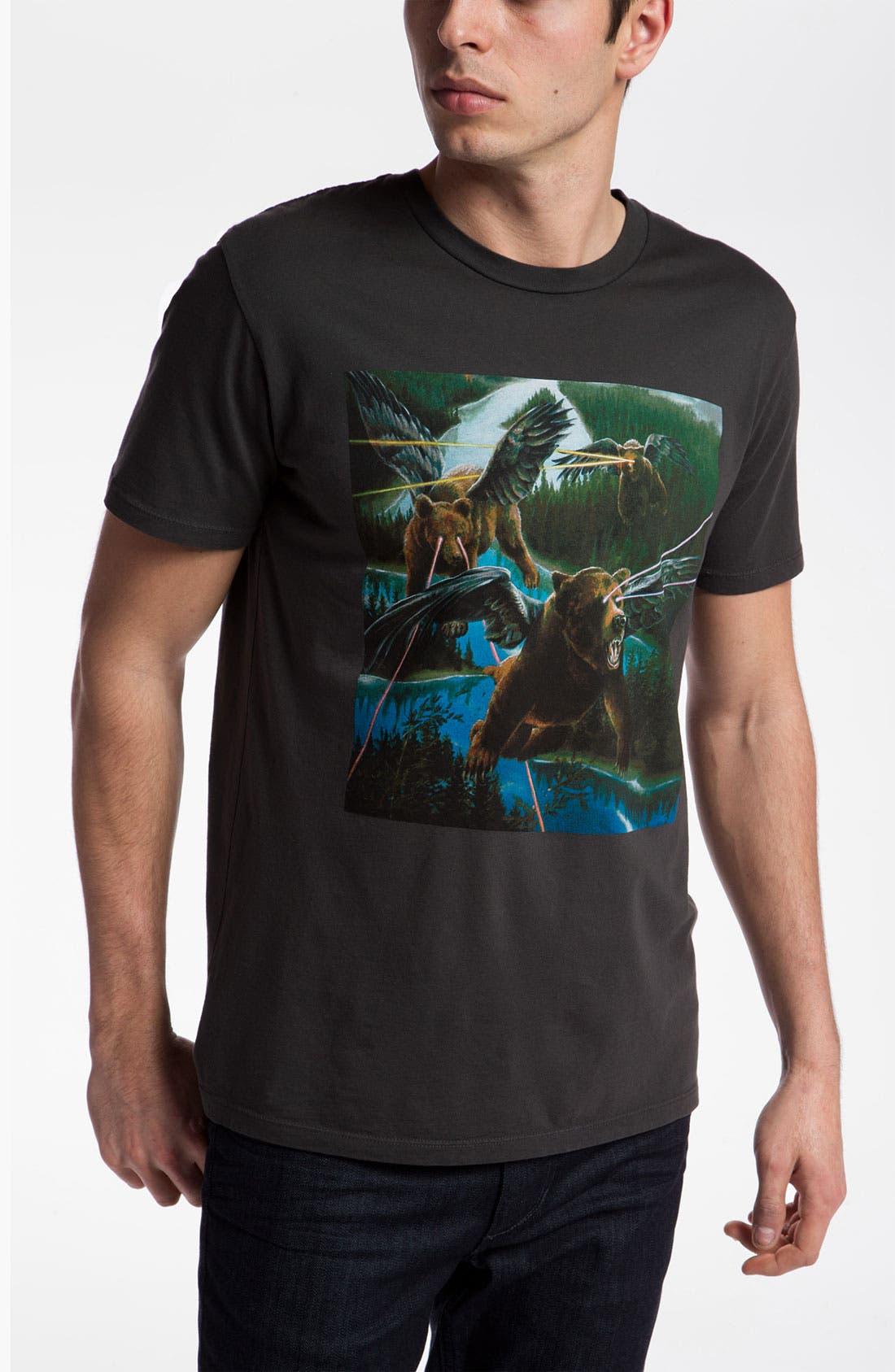 Alternate Image 1 Selected - Toddland 'Lazer Bear' T-Shirt