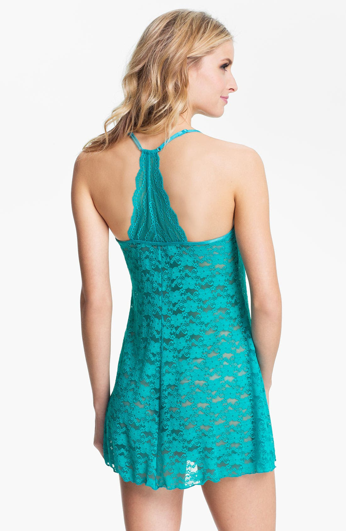 Alternate Image 2  - In Bloom by Jonquil Lace Trapeze Nightie