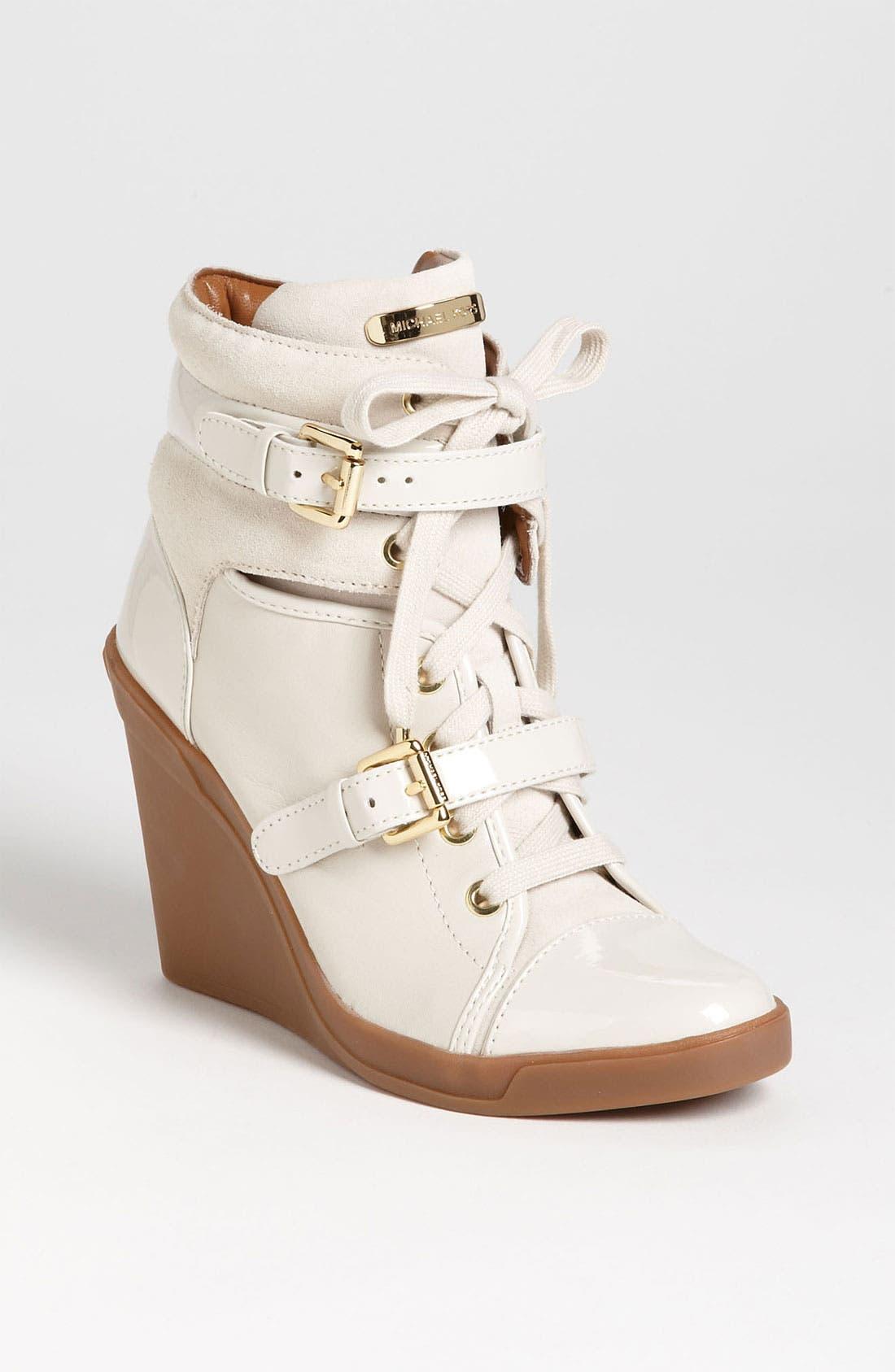 Main Image - MICHAEL Michael Kors 'Skid' Wedge Sneaker
