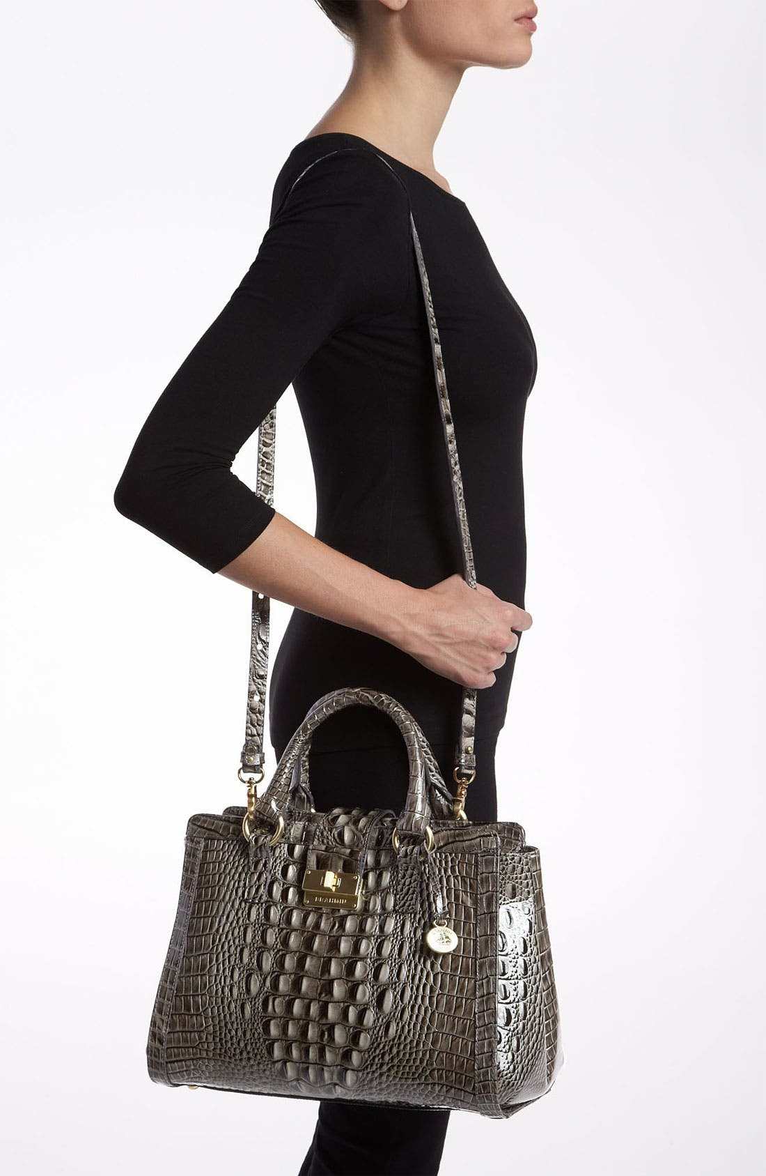 Alternate Image 2  - Brahmin 'Annabelle' Glossy Leather Tote