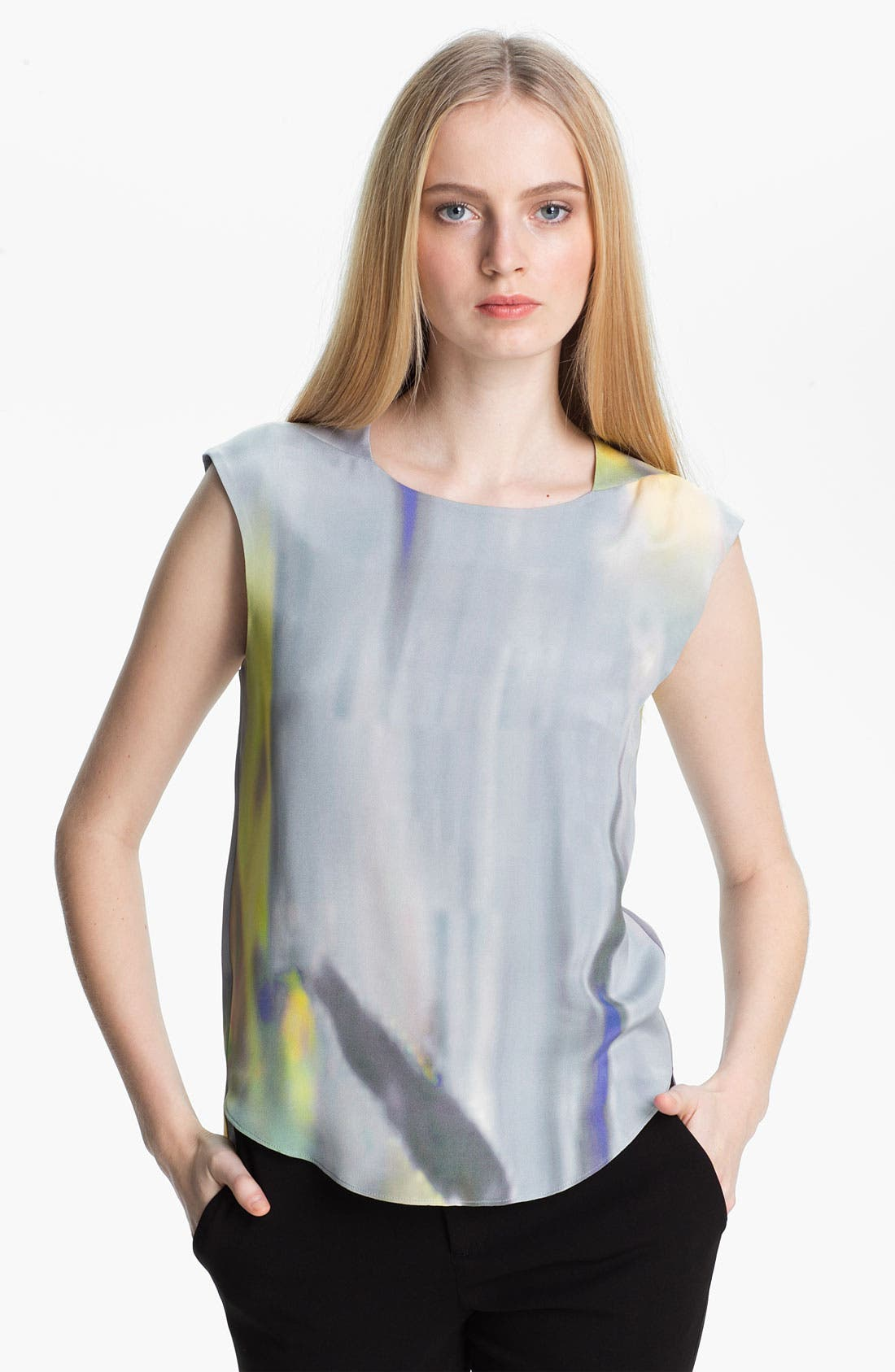 Main Image - Theyskens' Theory 'Binta Iseau' Silk Top