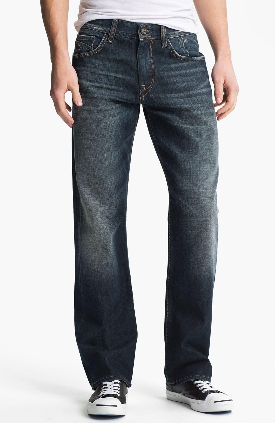 Alternate Image 2  - Mavi Jeans 'Matt' Relaxed Straight Leg Jeans (Used American Vintage)