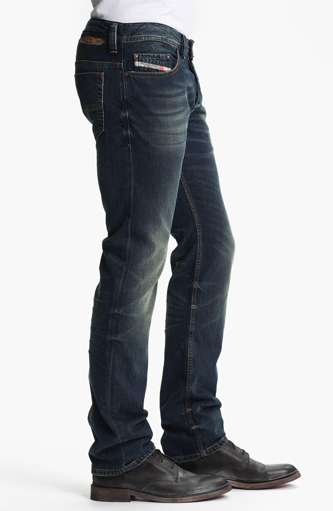 Alternate Image 3  - DIESEL® 'Safado' Straight Leg Jeans (0807U)