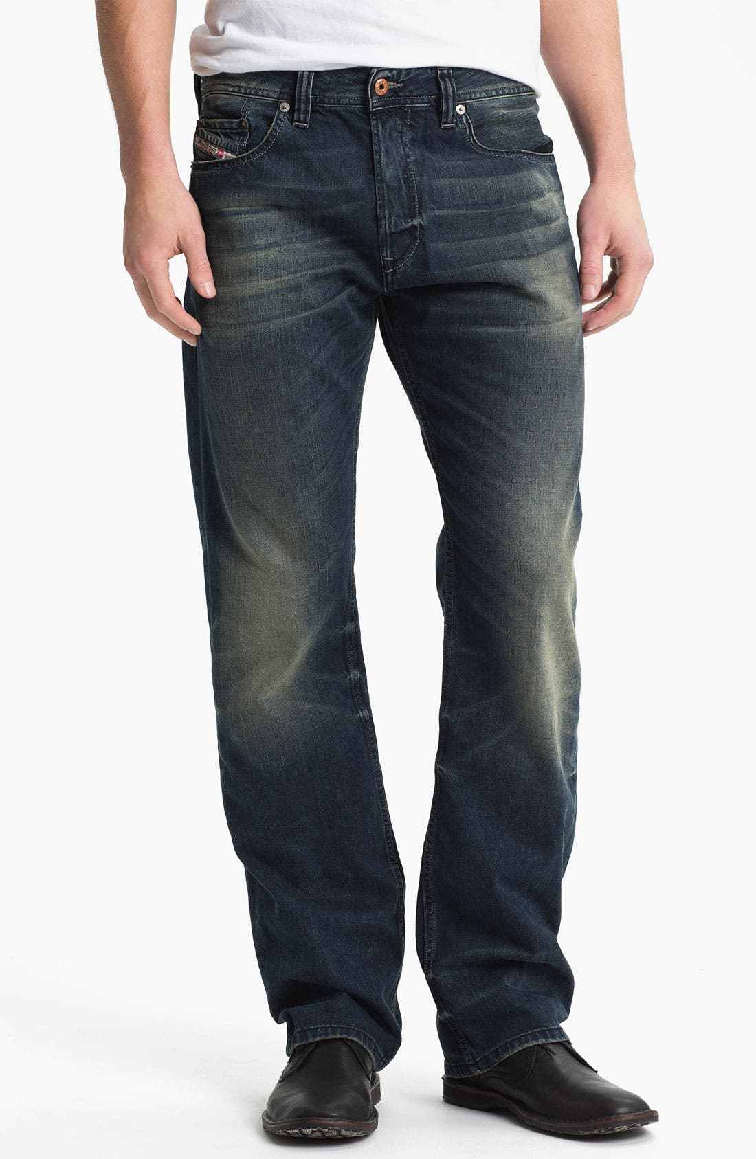 Alternate Image 2  - DIESEL® 'Larkee' Straight Leg Jeans (0807U)