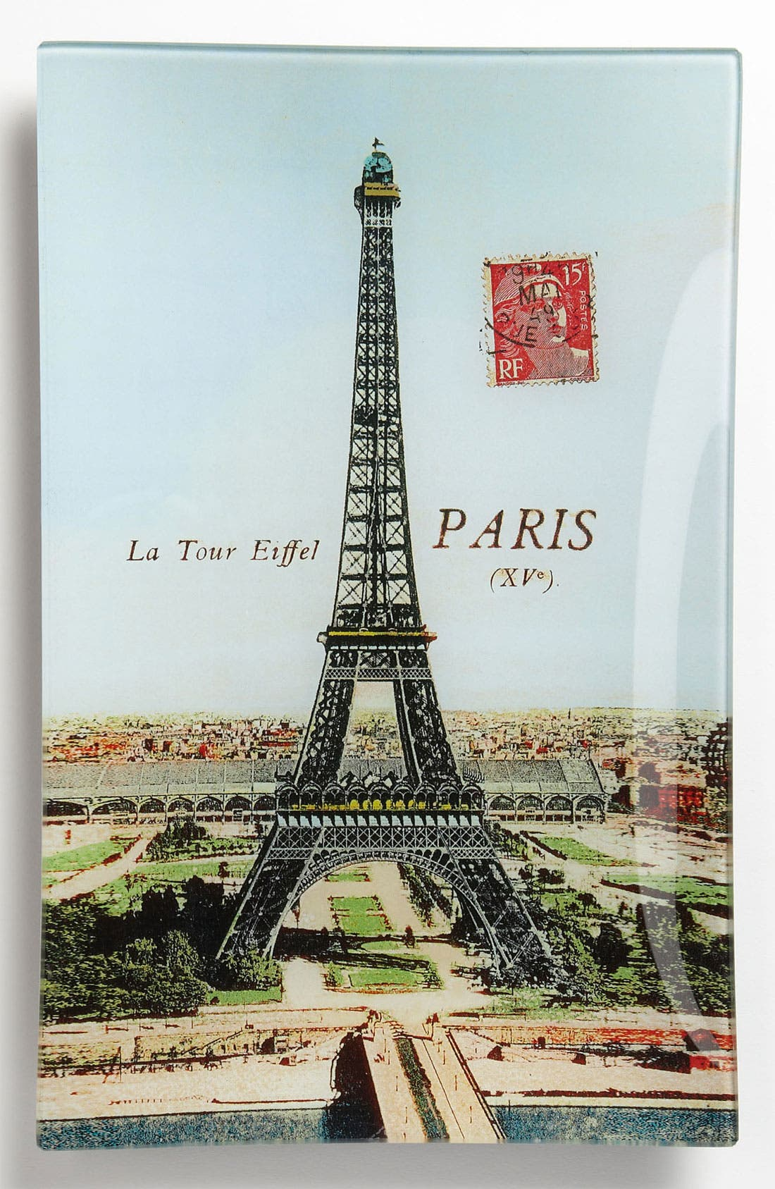 Alternate Image 1 Selected - Ben's Garden 'La Tour Eiffel' Decorative Glass Tray