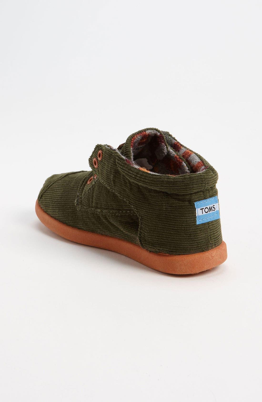 Alternate Image 2  - TOMS 'Botas' Corduroy Boot (Baby, Walker & Toddler)