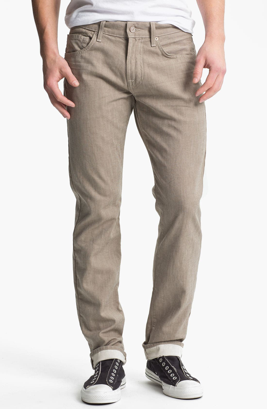 Alternate Image 2  - 7 For All Mankind® Signature Straight Leg Pants