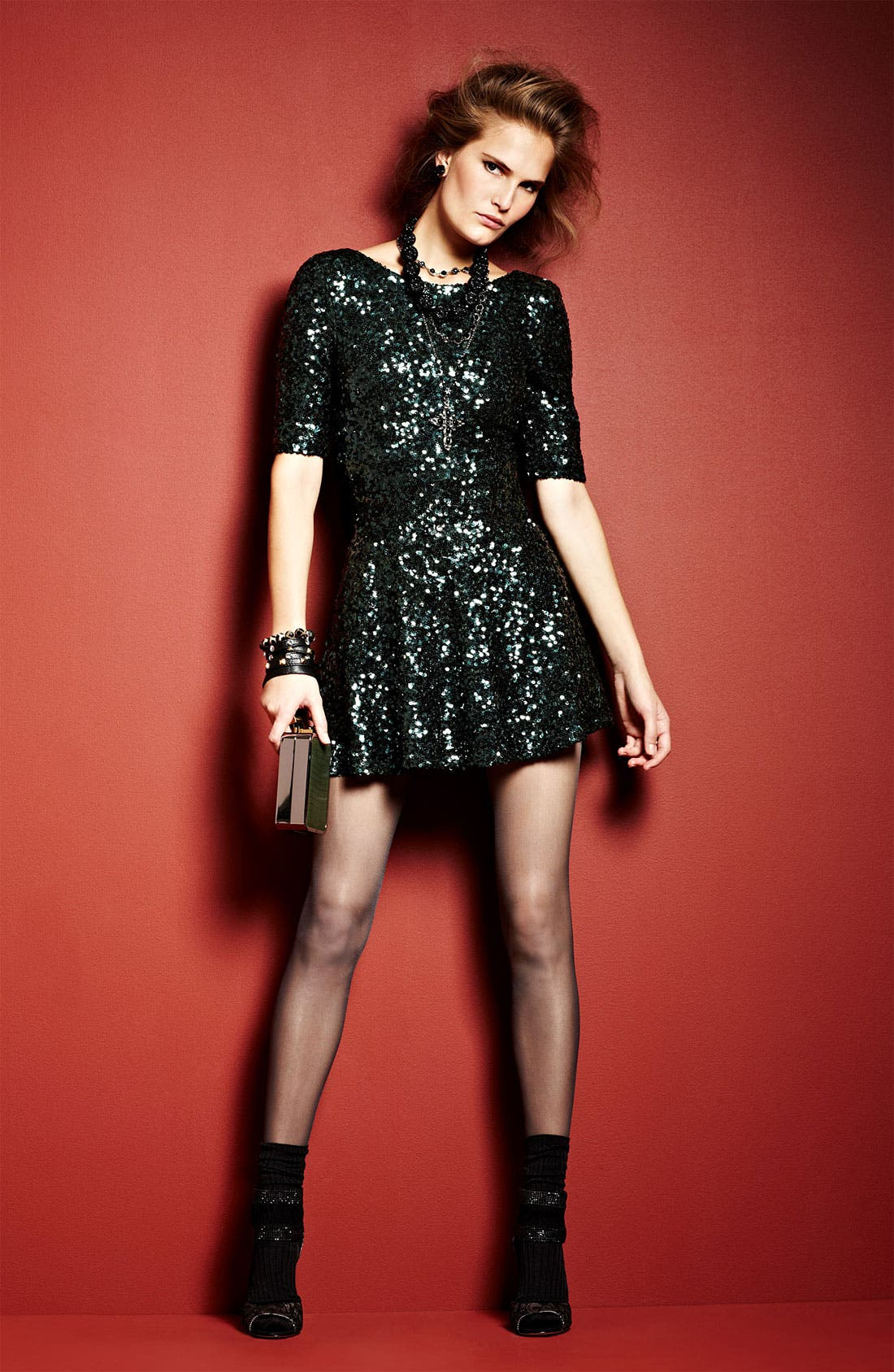 Main Image - French Connection Dress & Accessories