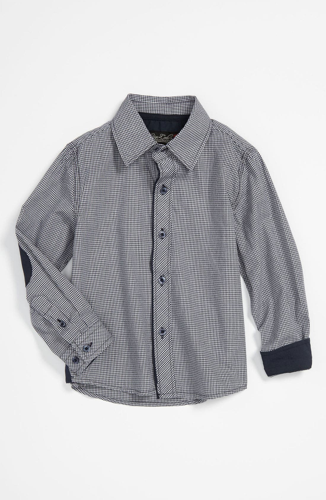 Alternate Image 1 Selected - Sovereign Code Gingham Shirt (Infant)