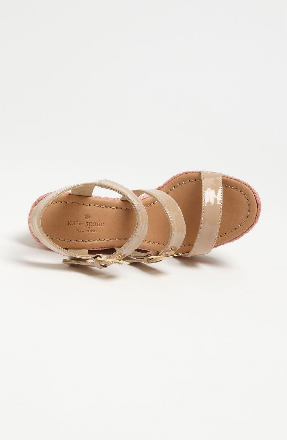 Alternate Image 3  - kate spade new york 'lucie' espadrille sandal