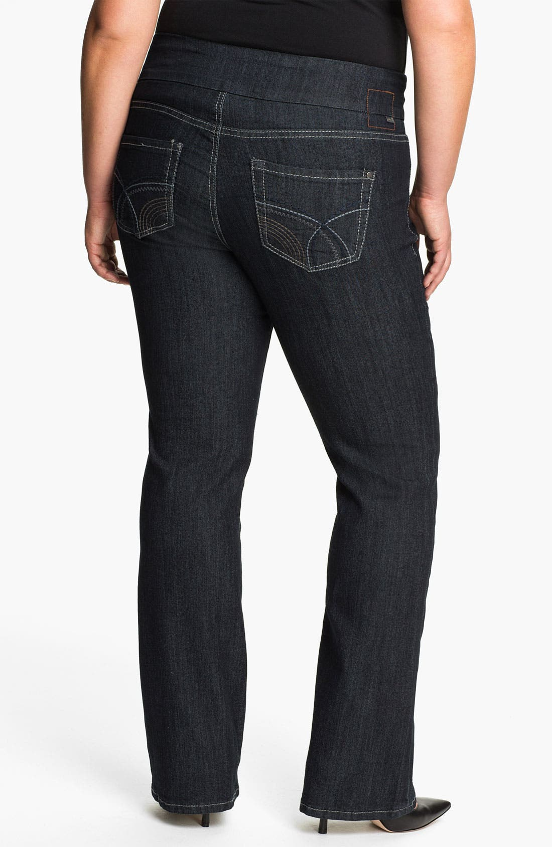 Alternate Image 2  - Jag Jeans 'Holland' Bootcut Jeans (Plus)