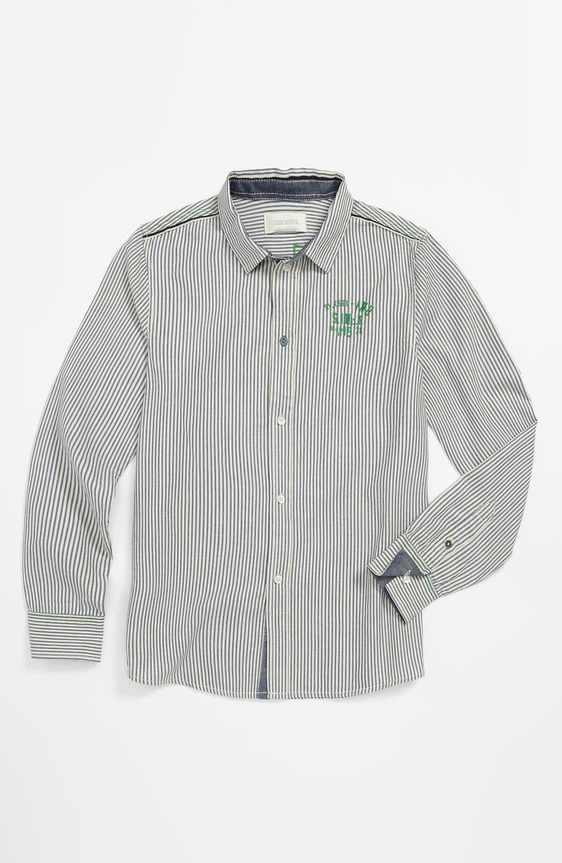 Alternate Image 1 Selected - DIESEL® 'Caixi' Shirt (Big Boys)