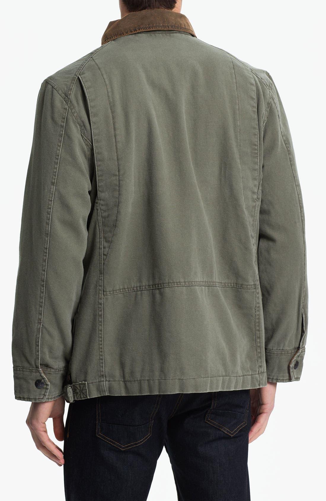 Alternate Image 2  - Denim & Leathers by Andrew Marc Workwear Jacket
