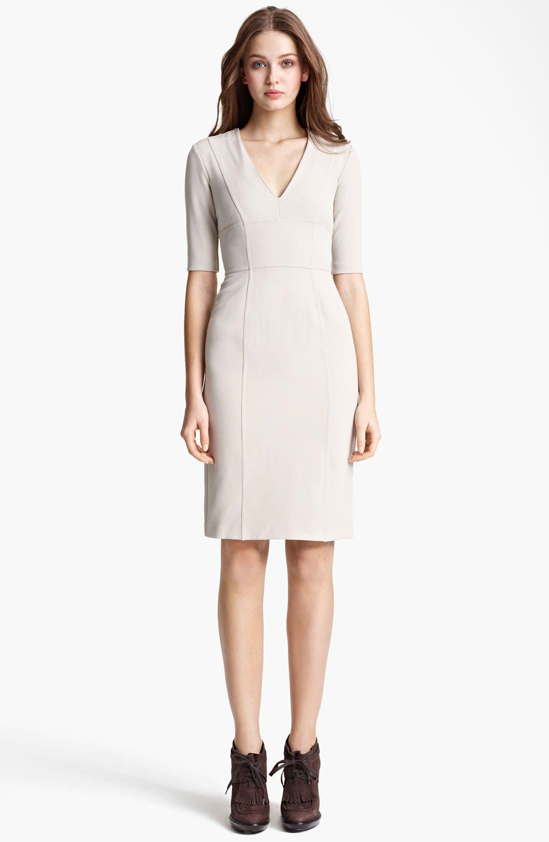 Alternate Image 1 Selected - Burberry London Crepe Dress