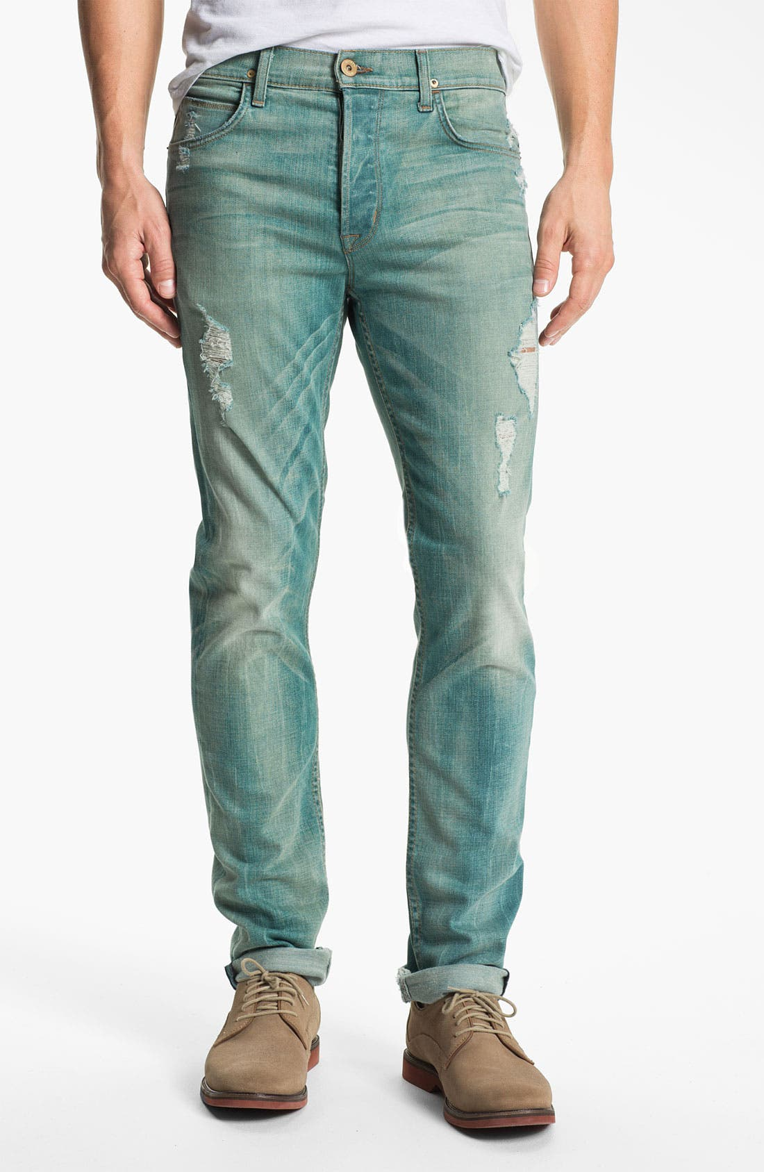 Alternate Image 1 Selected - Hudson Jeans 'Dandy' Slouchy Straight Leg Jeans (Rooster)