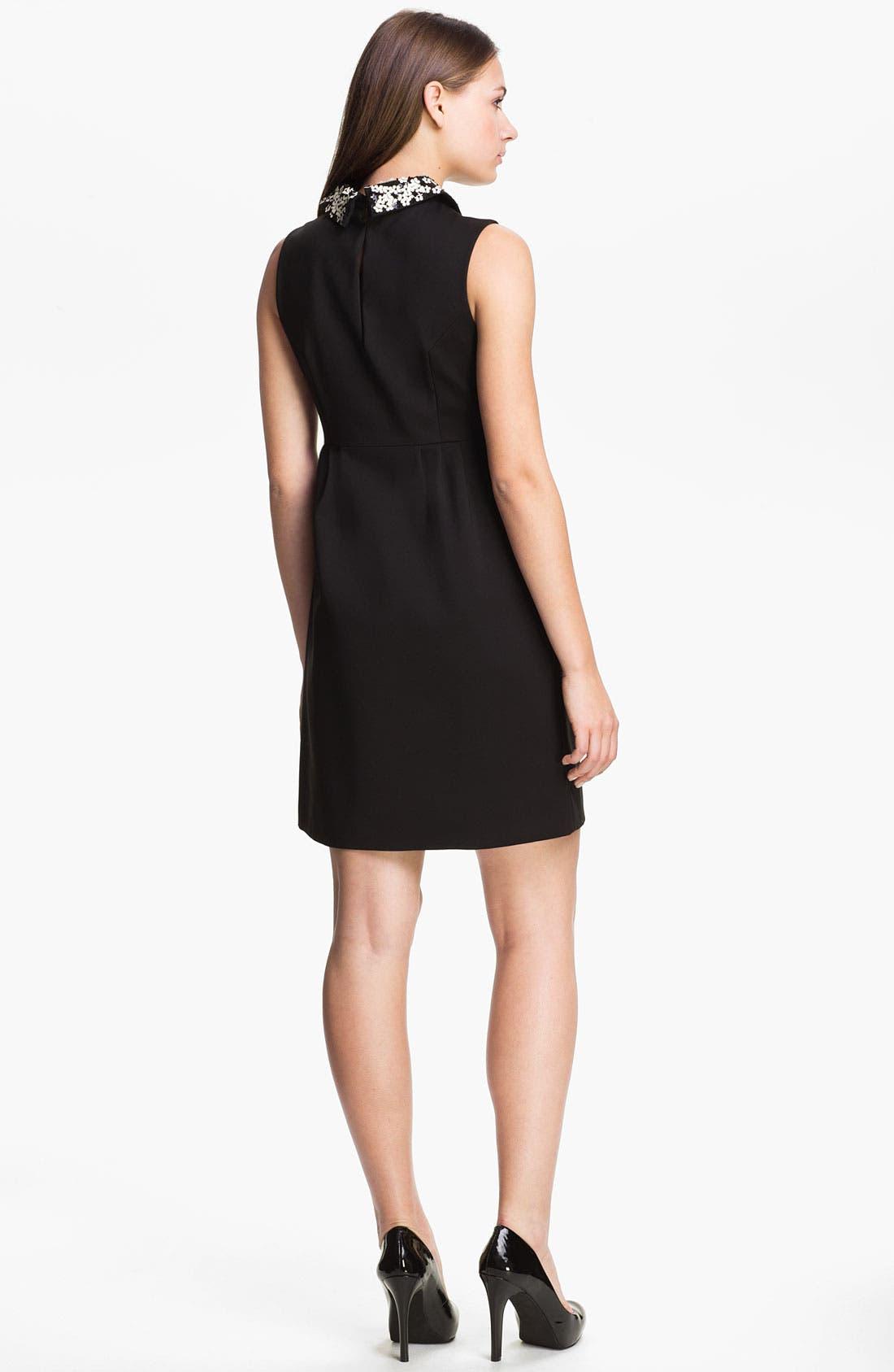 Alternate Image 2  - kate spade new york 'bradie' cotton blend shift dress