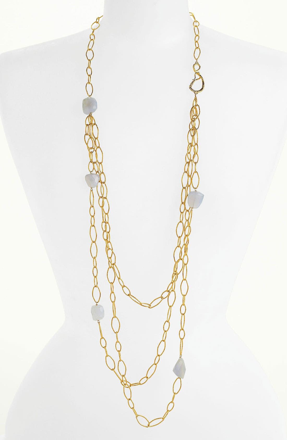 Alternate Image 1 Selected - Alexis Bittar 'Elements - Siyabona' Long Link Necklace