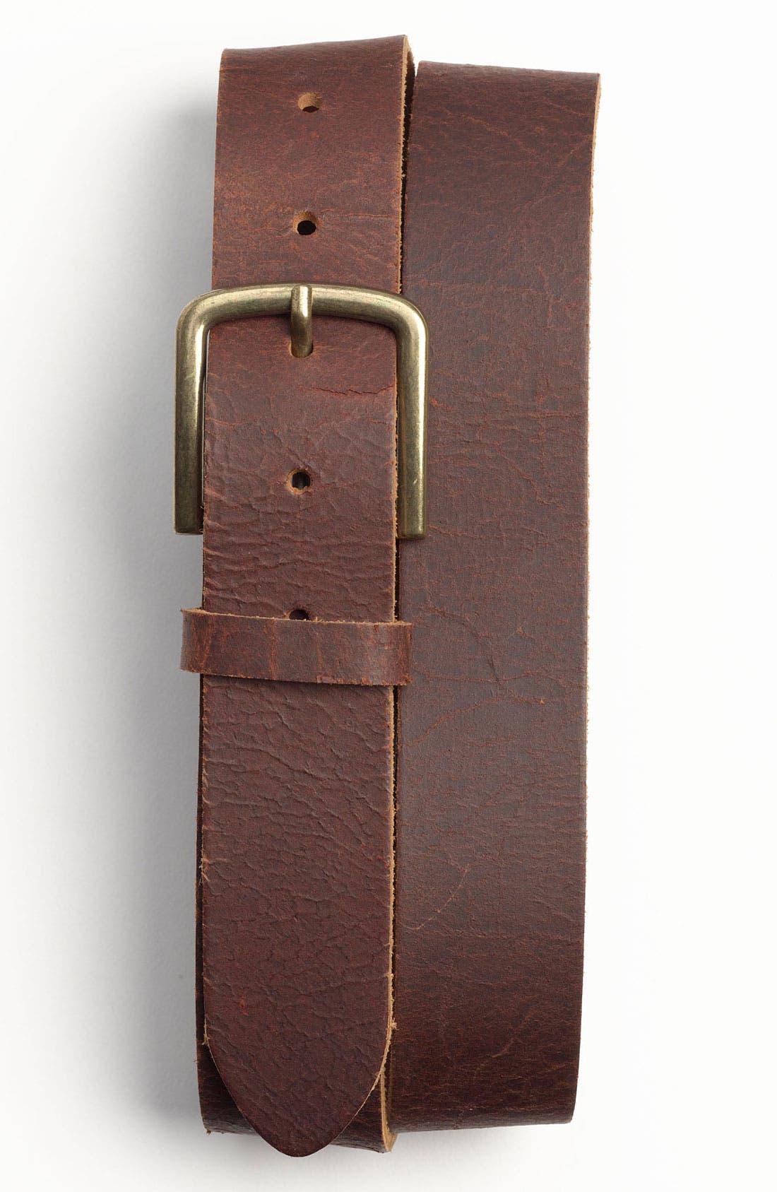 Alternate Image 1 Selected - Topman 'Hombre' Leather Belt
