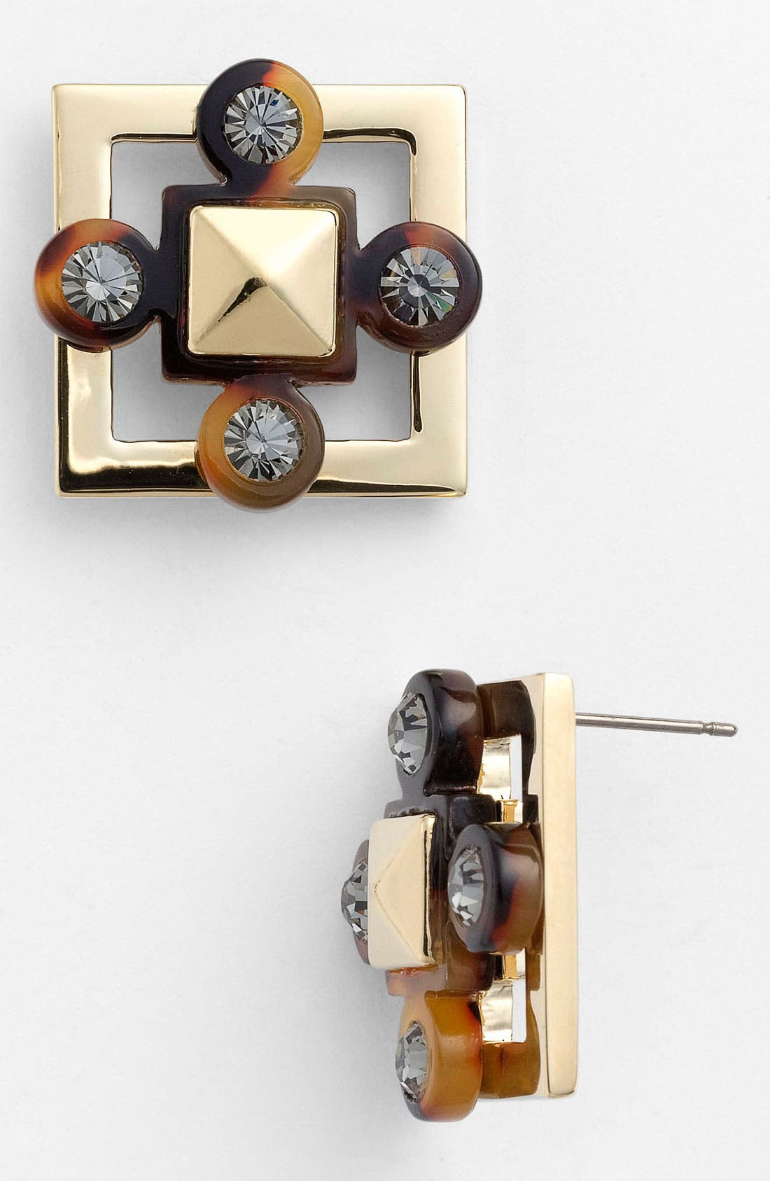 Alternate Image 1 Selected - Tory Burch Stud Earrings