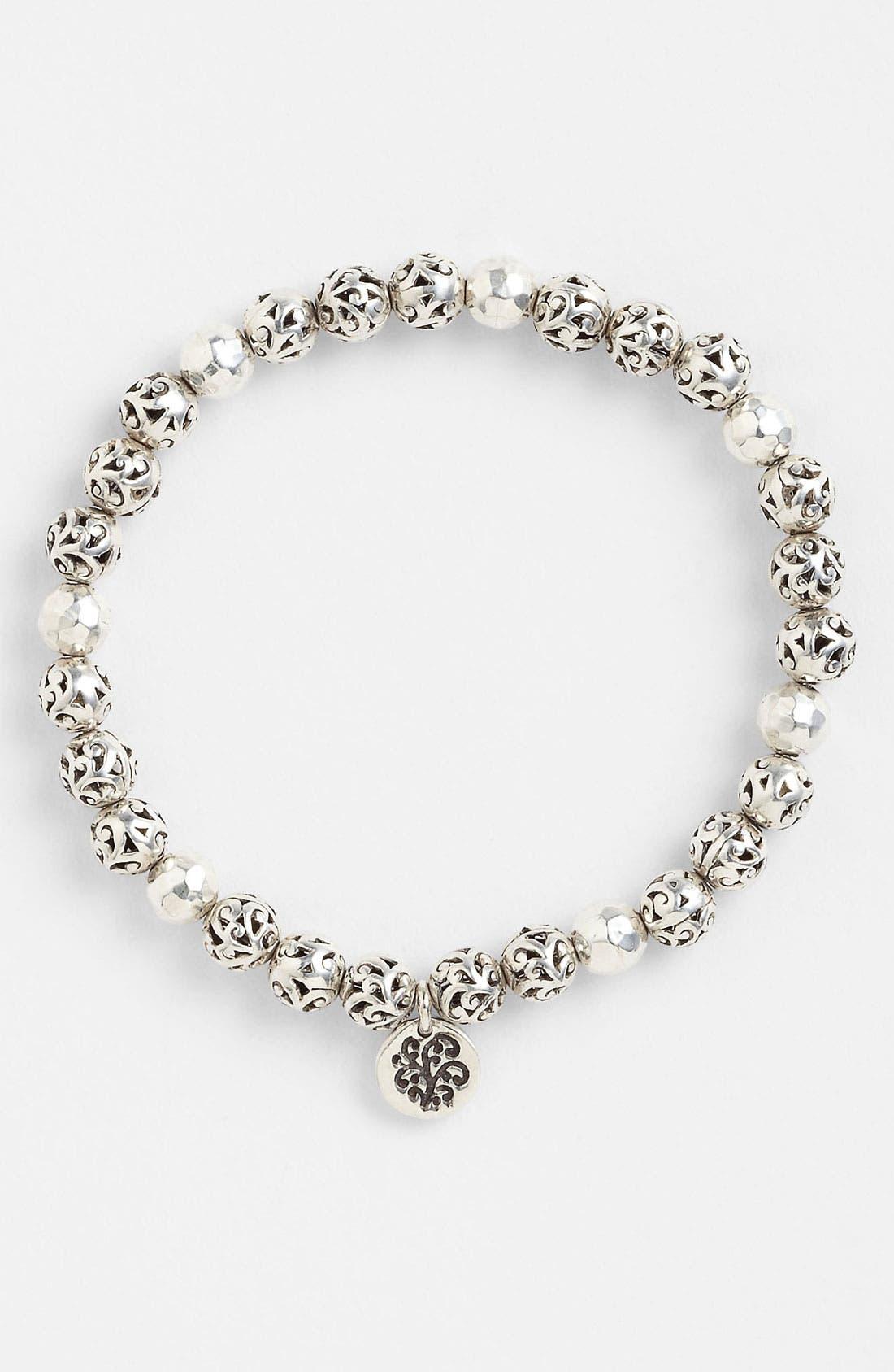 Alternate Image 1 Selected - Lois Hill 'Classics' Bead Stretch Bracelet