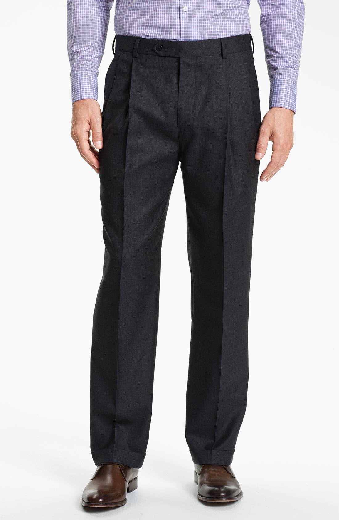 Alternate Image 4  - Brooks Brothers 'Madison' Wool Suit