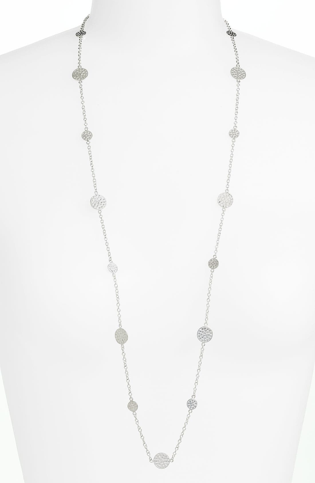Main Image - Anna Beck 'Bali' Long Strand Disc Necklace