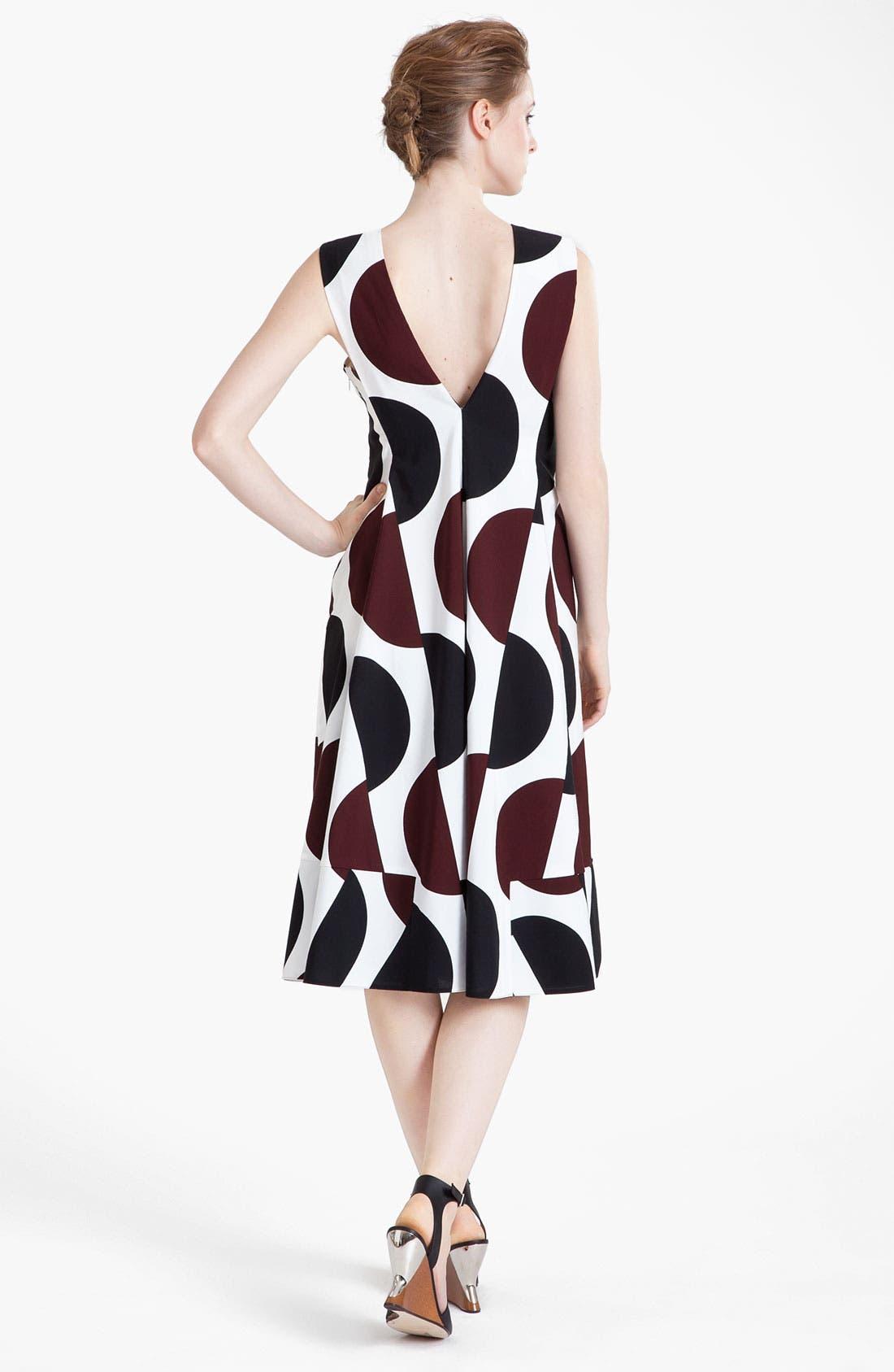 Alternate Image 2  - Marni Large Dot Print Pleated Dress