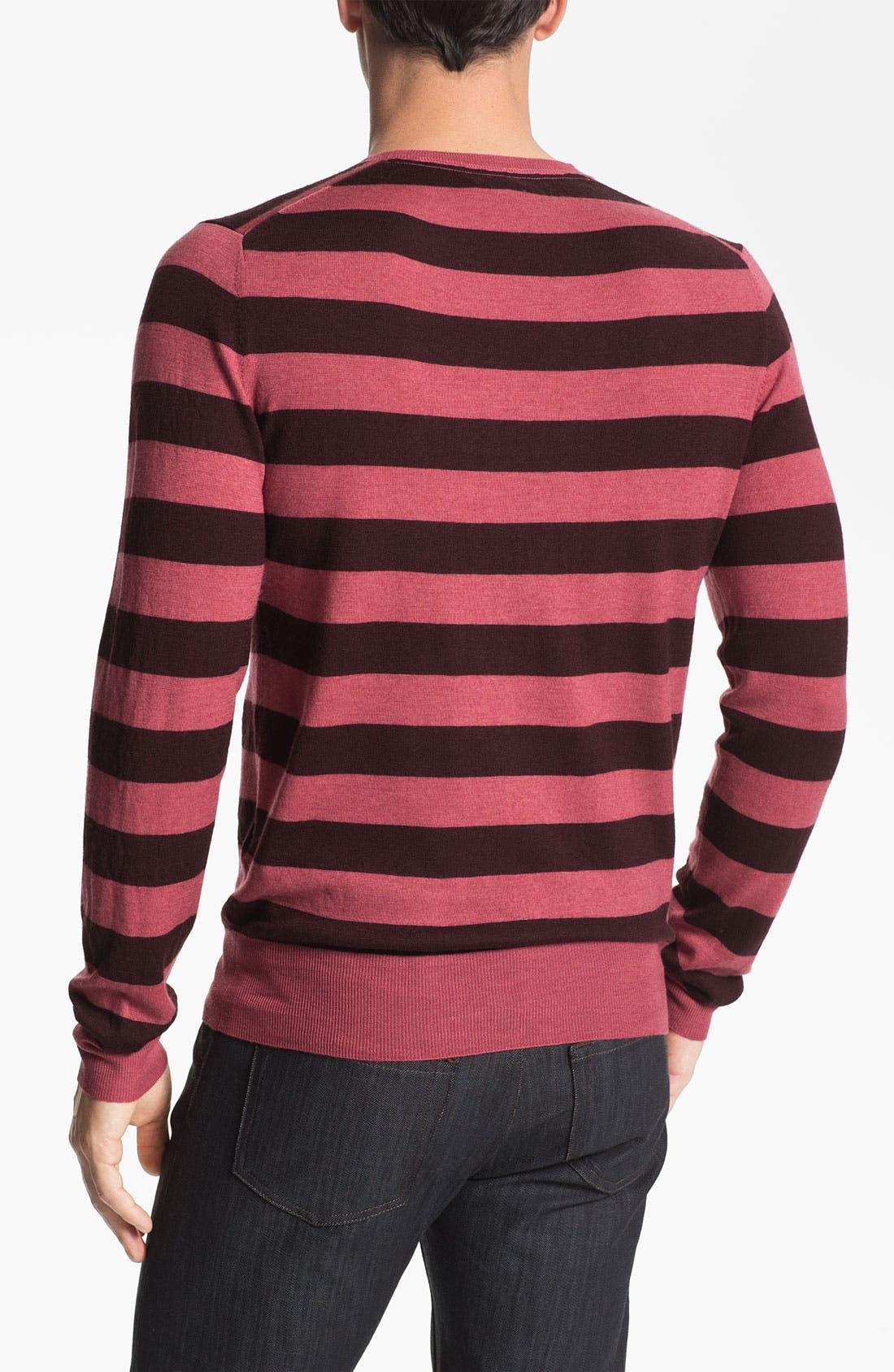Alternate Image 2  - Burberry Brit 'Peyton' Lightweight Merino Wool Sweater