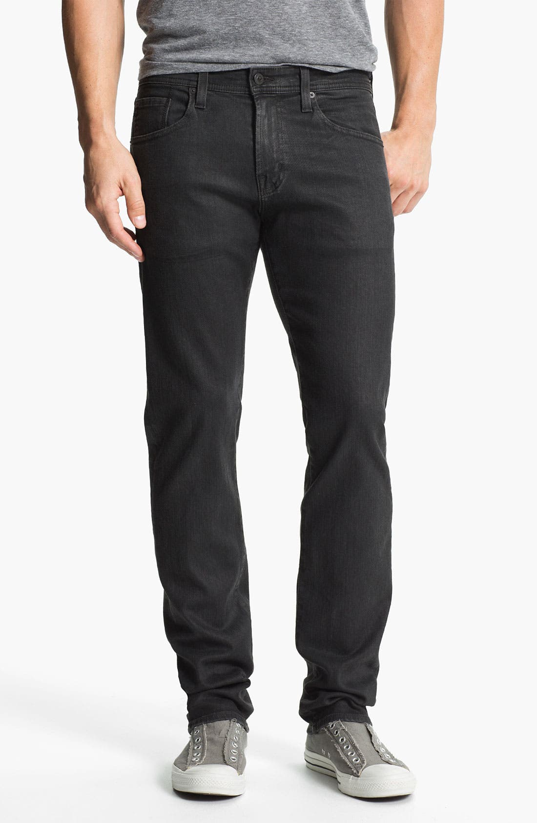 Main Image - AG Jeans 'Matchbox Slim' Straight Leg Jeans (Alloy)