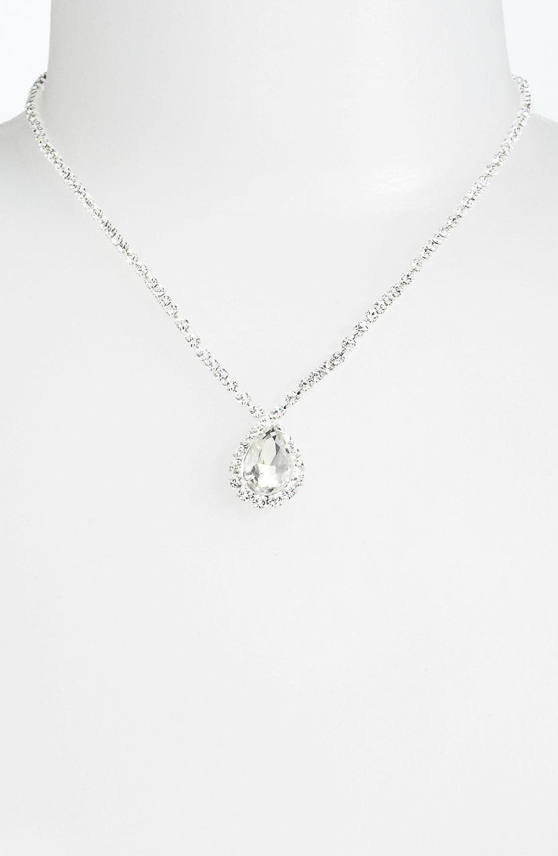 Alternate Image 2  - Rosa Crystal Collection Jewelry Pendant Necklace