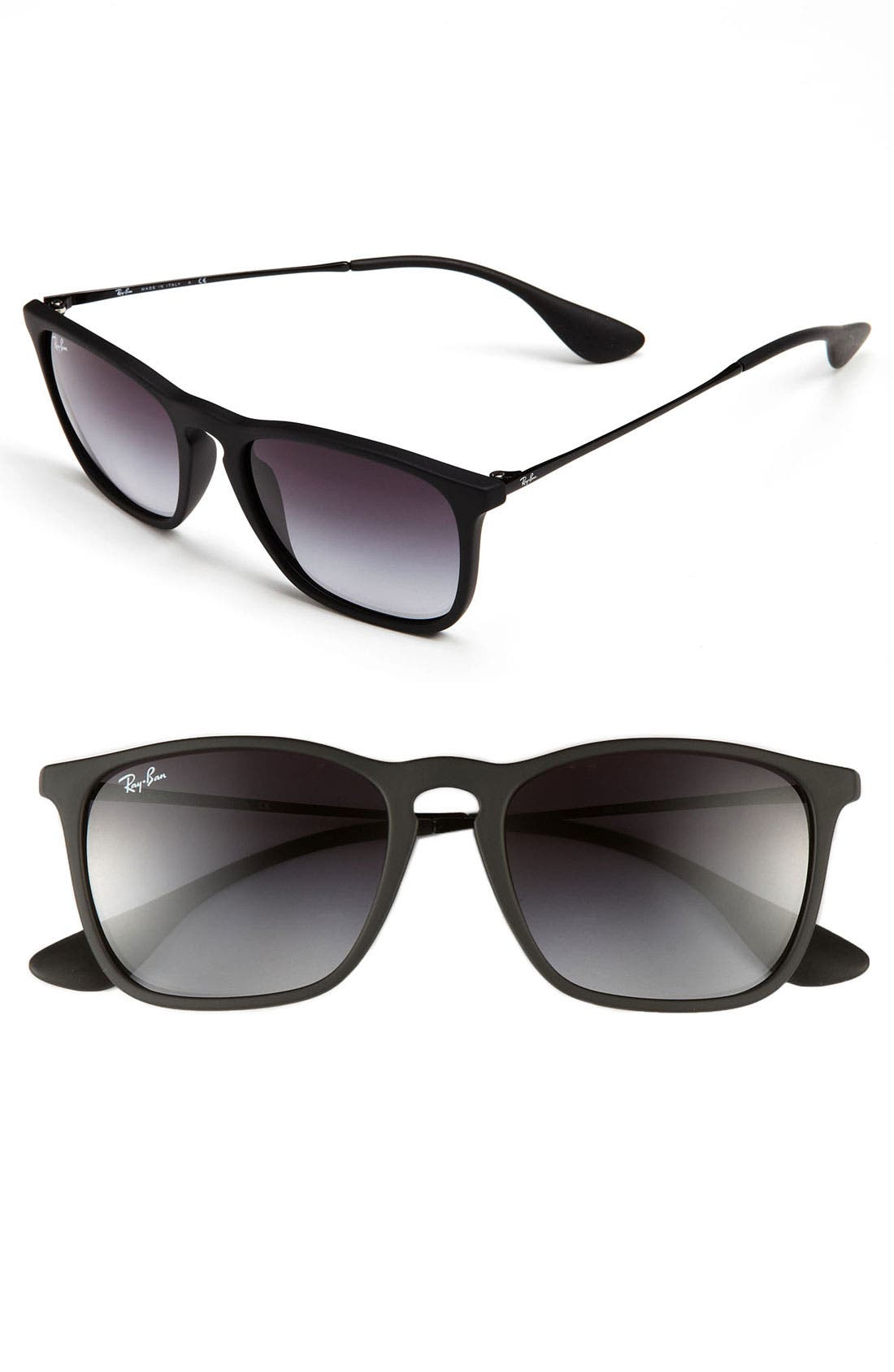 Alternate Image 1 Selected - Ray-Ban Youngster 54mm Square Keyhole Sunglasses