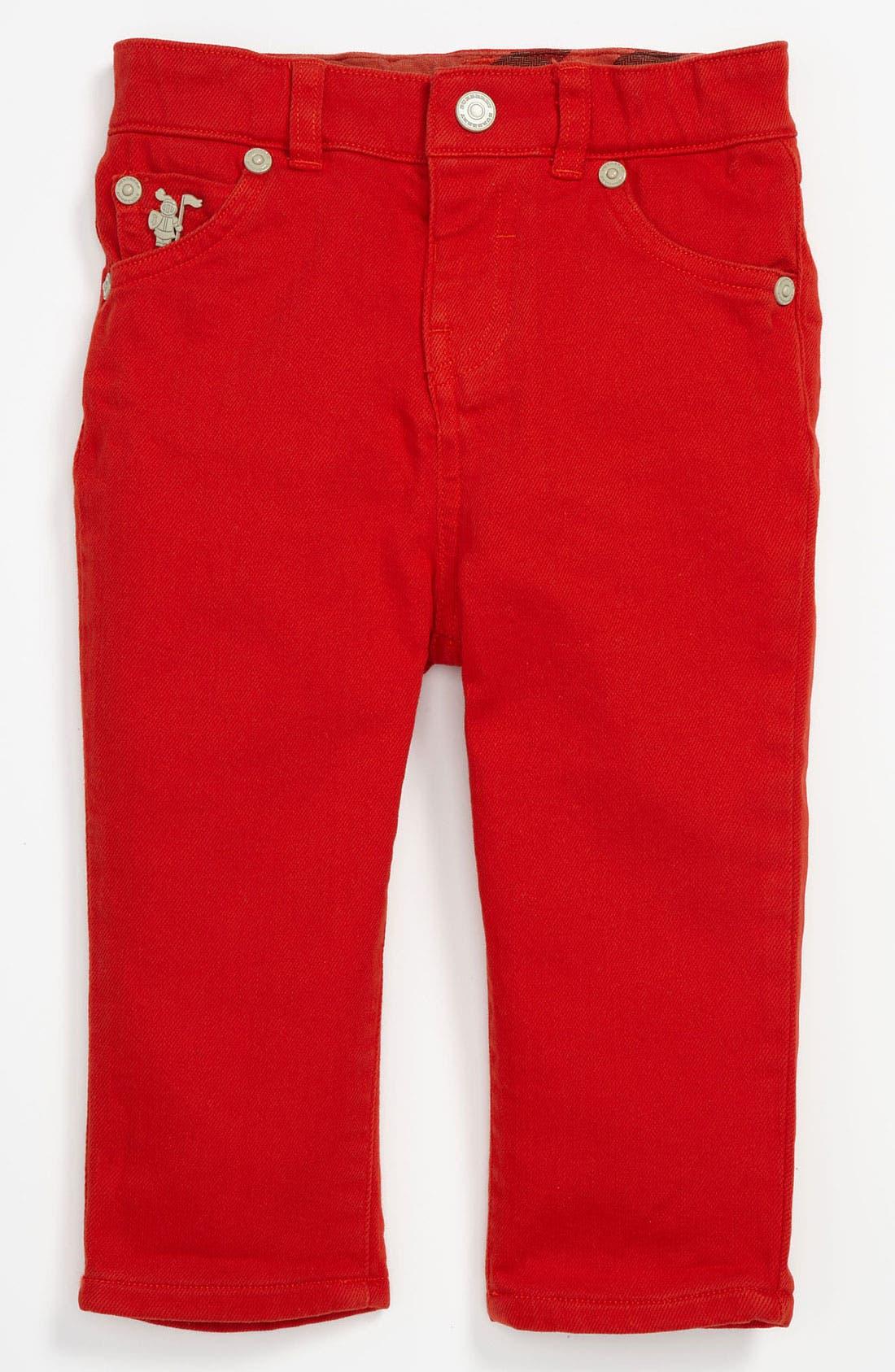 Alternate Image 2  - Burberry 'Langston' Skinny Leg Jeans (Toddler)