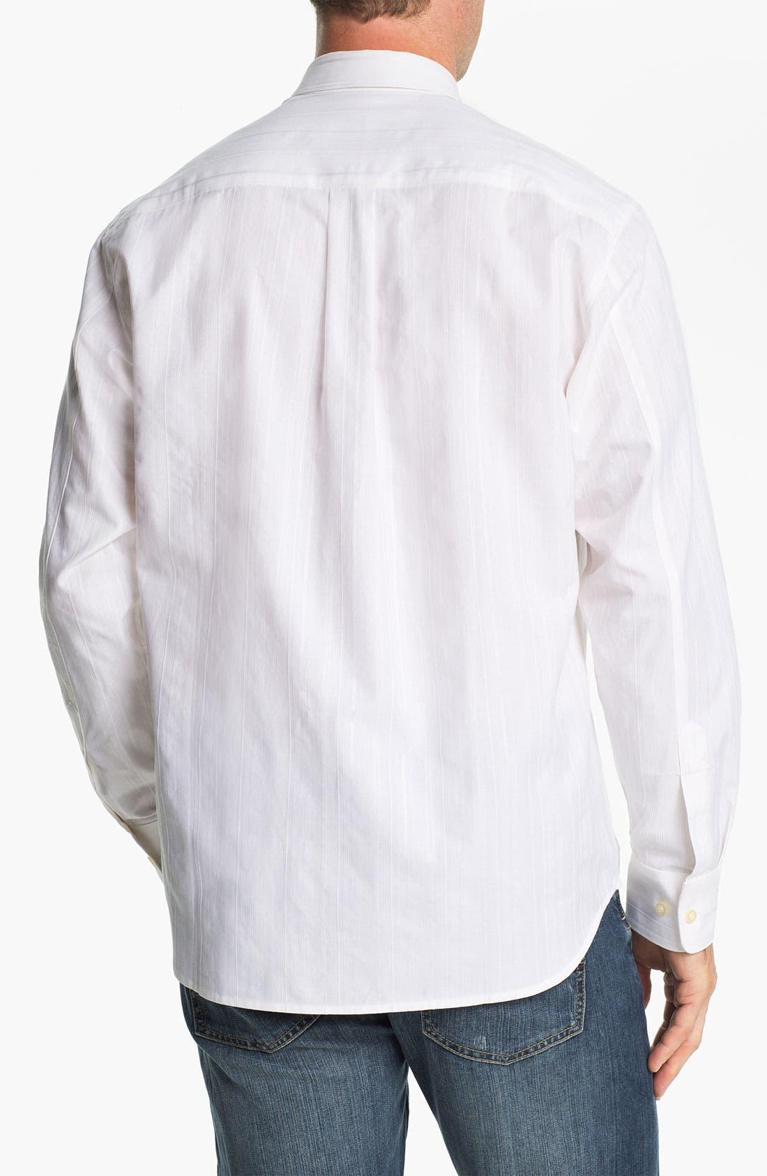 Alternate Image 2  - Tommy Bahama 'Pintux' Cotton & Silk Sport Shirt
