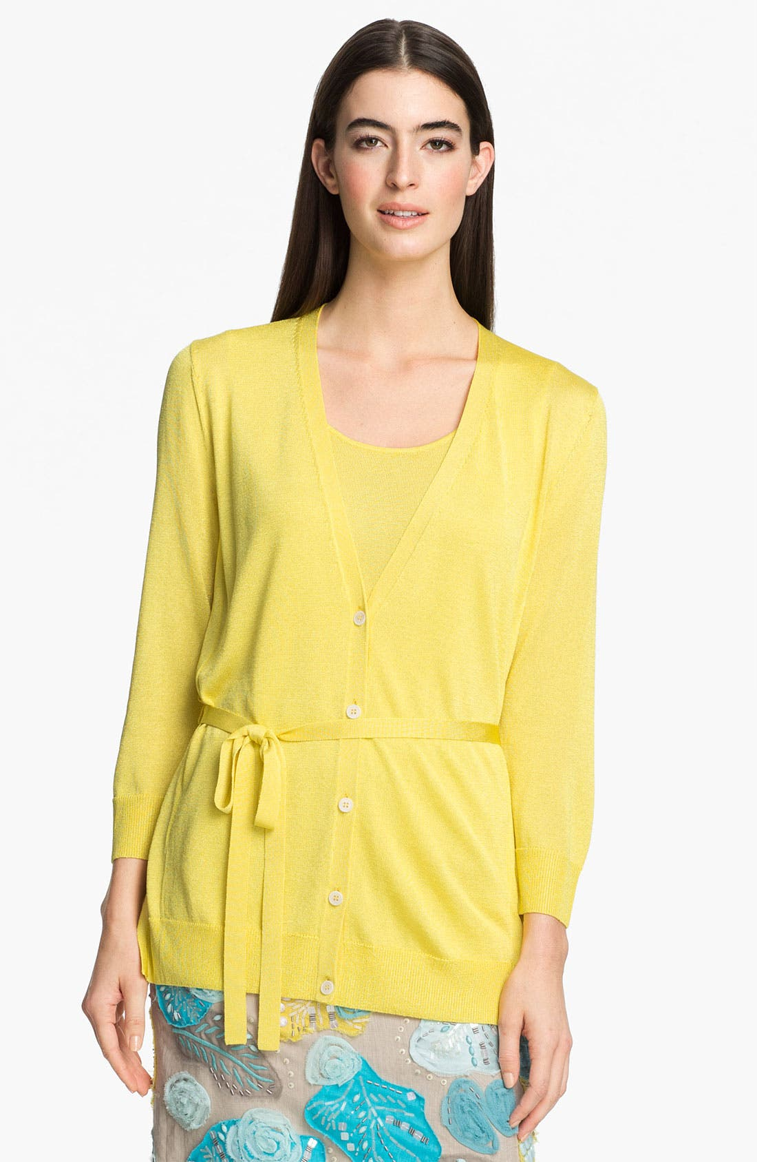 Alternate Image 1 Selected - Lafayette 148 New York 'Pure Radiance' Cardigan
