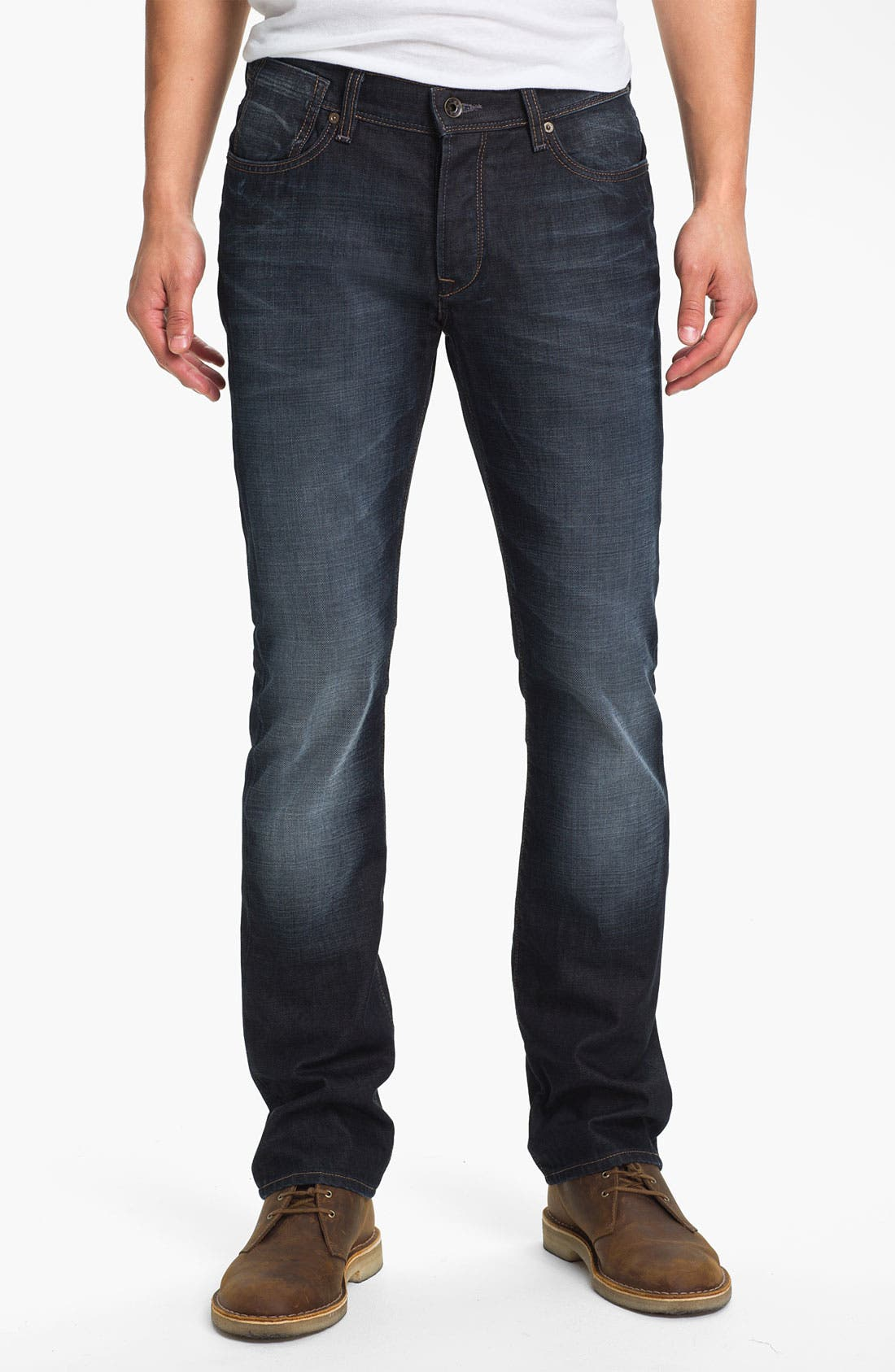Alternate Image 1 Selected - John Varvatos Star USA 'Fisher' Straight Leg Jeans (Storm)