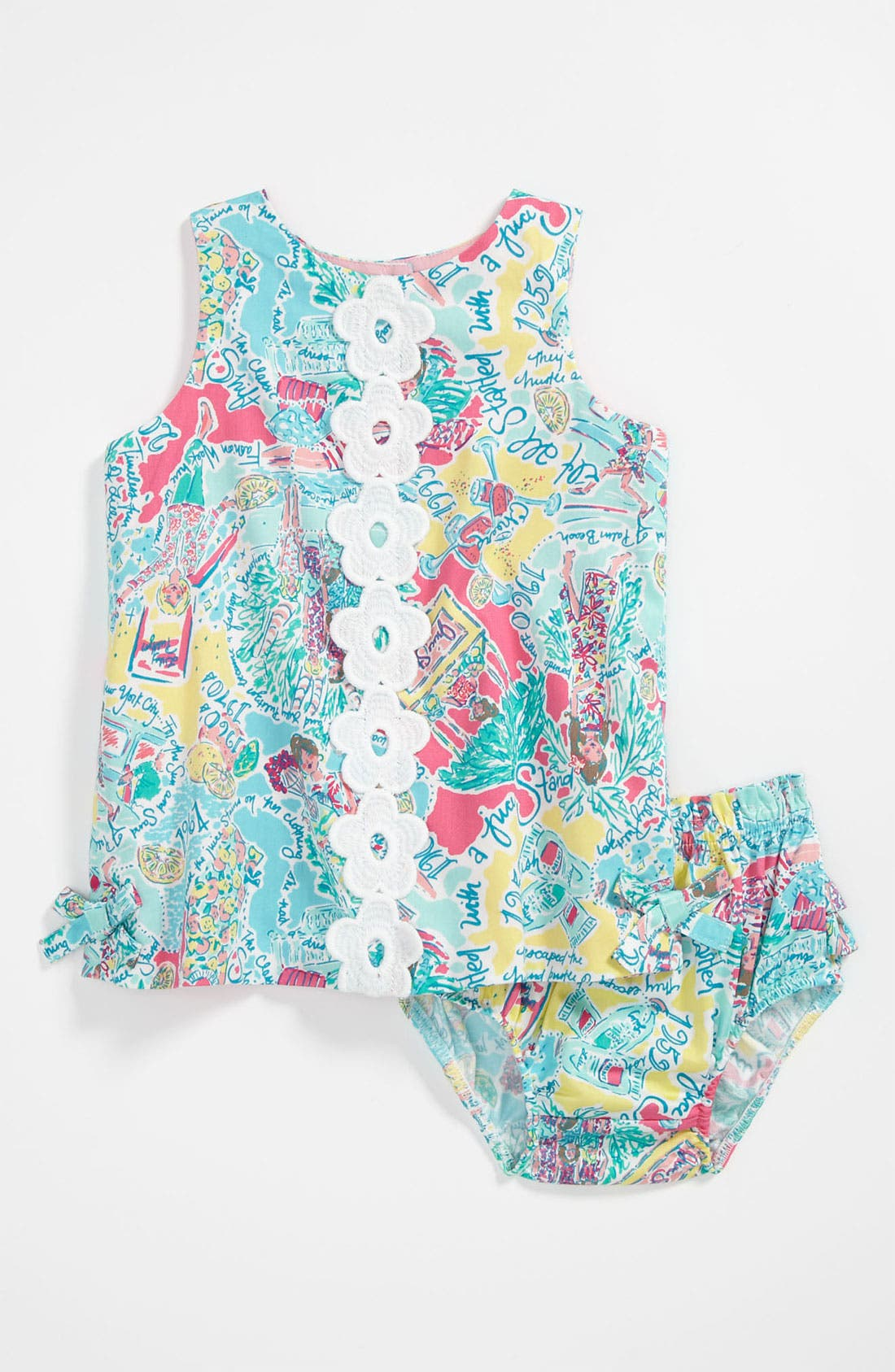 Main Image - Lilly Pulitzer® 'Baby Lilly' Shift Dress (Infant)