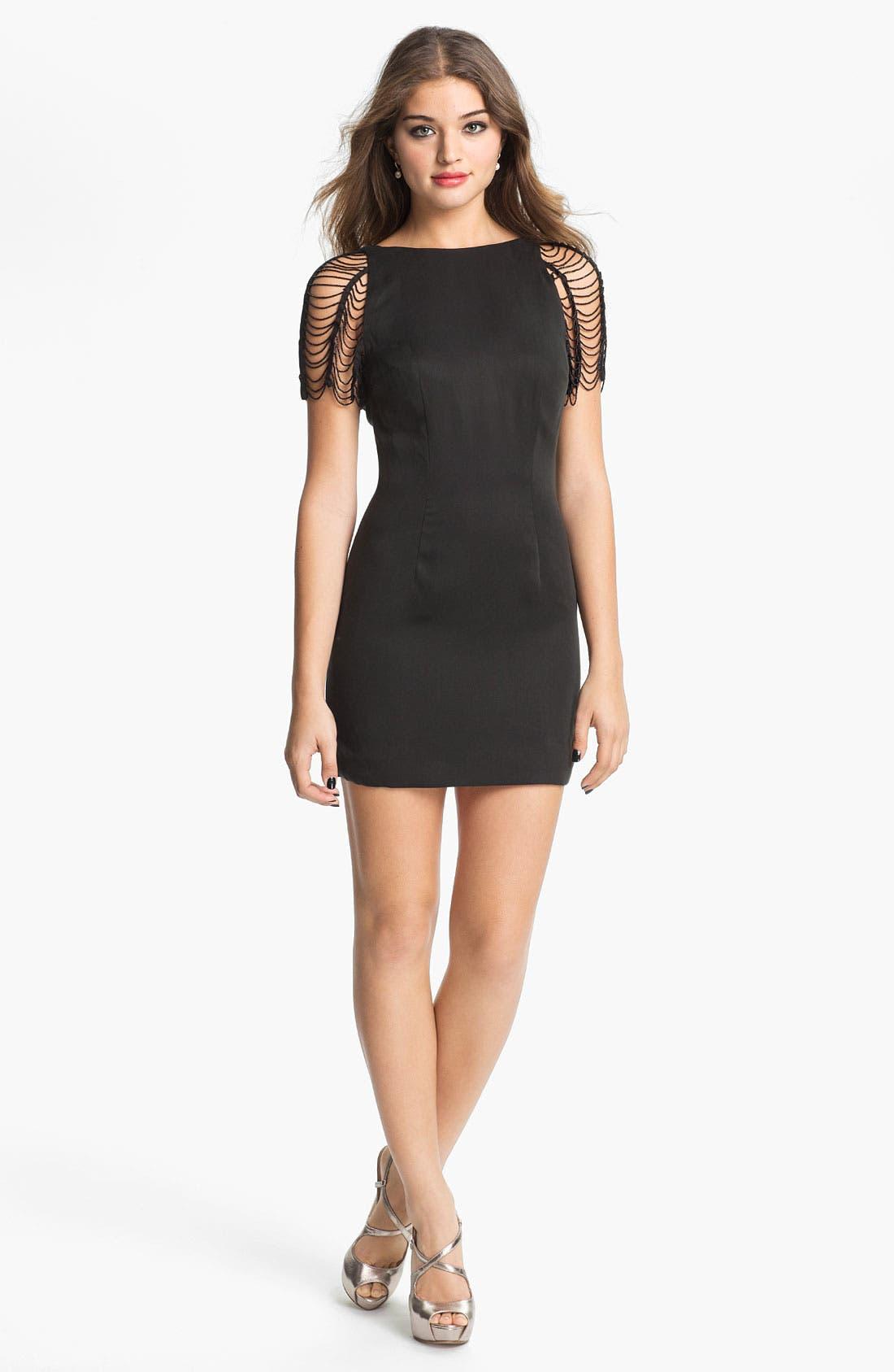 Main Image - Keepsake the Label 'Lights Out' Minidress