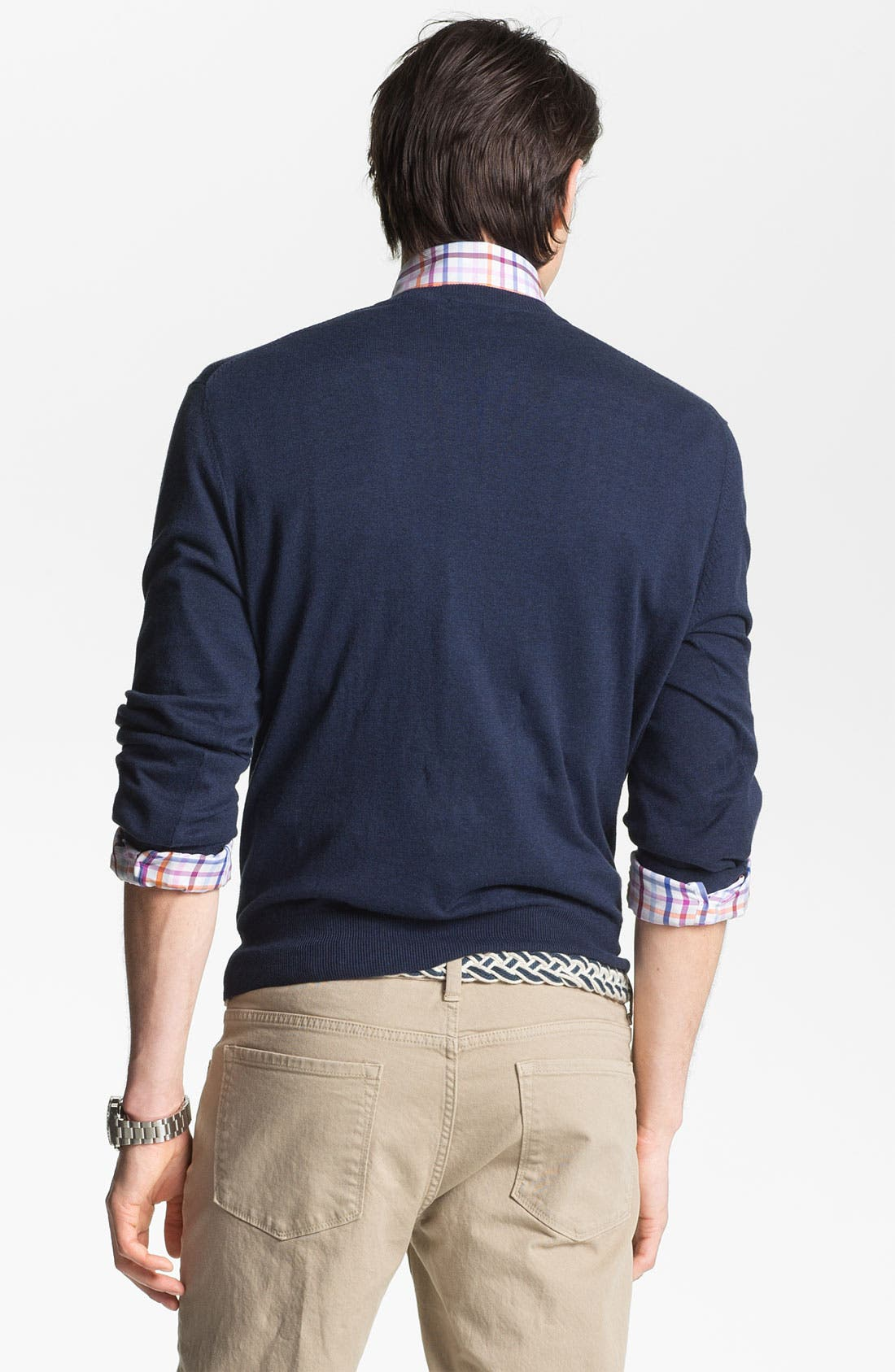 Alternate Image 2  - Toscano V-Neck Sweater