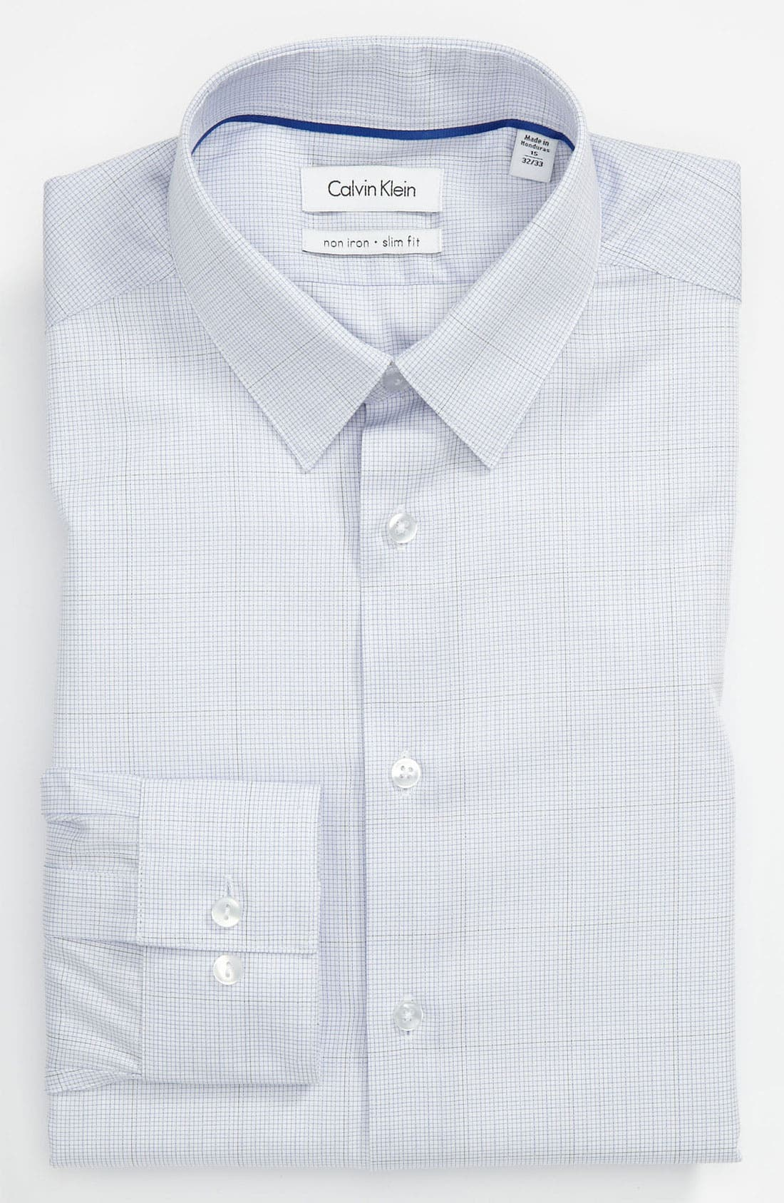 Main Image - Calvin Klein Slim Fit Non-Iron Dress Shirt