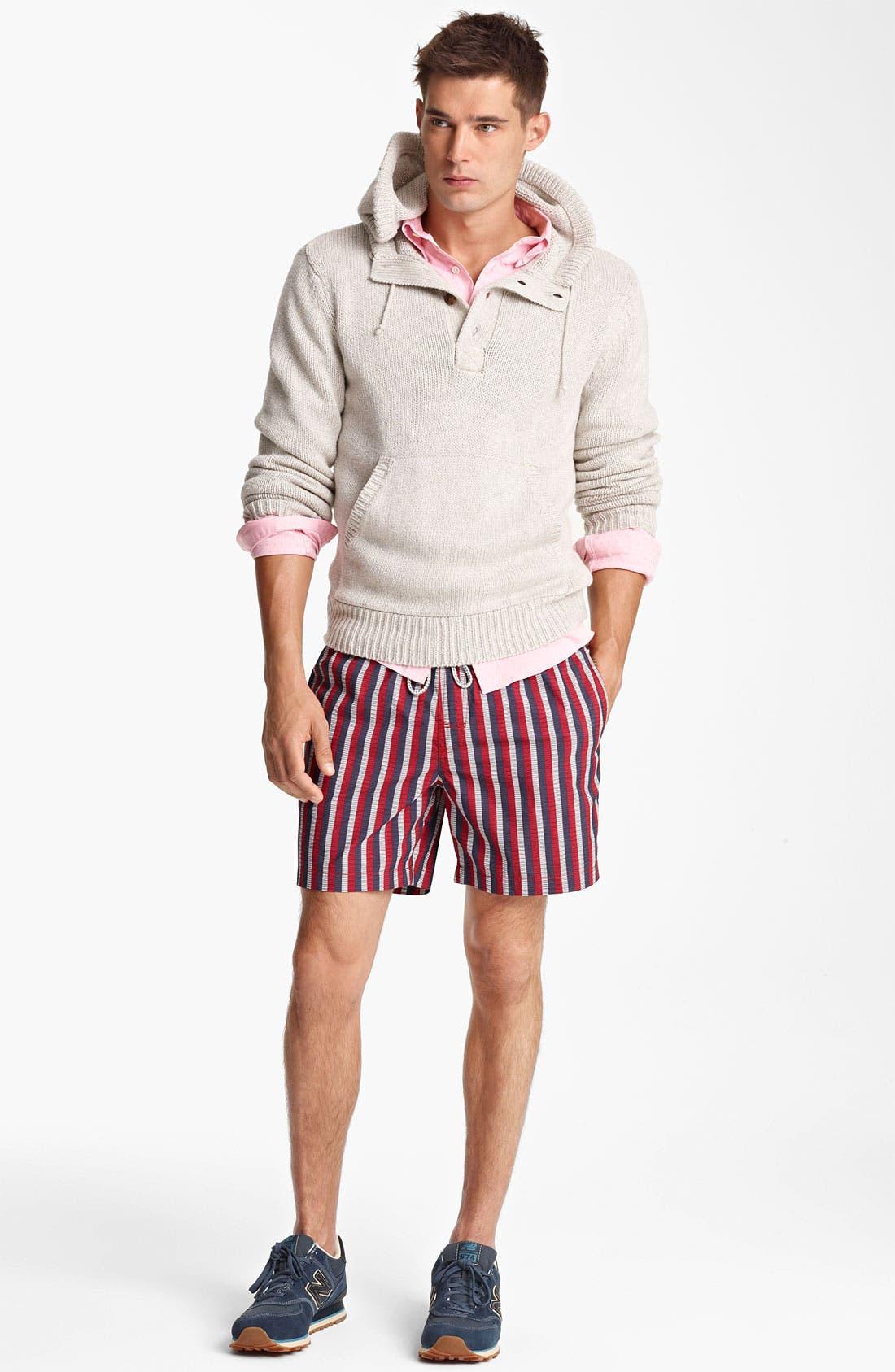 Alternate Image 4  - Jack Spade 'Baker' Hooded Sweater